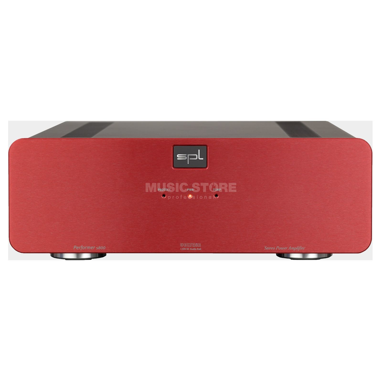 SPL Electronics Pro-Fi Performer S800 red High-End Stereo Endstufe Produktbillede