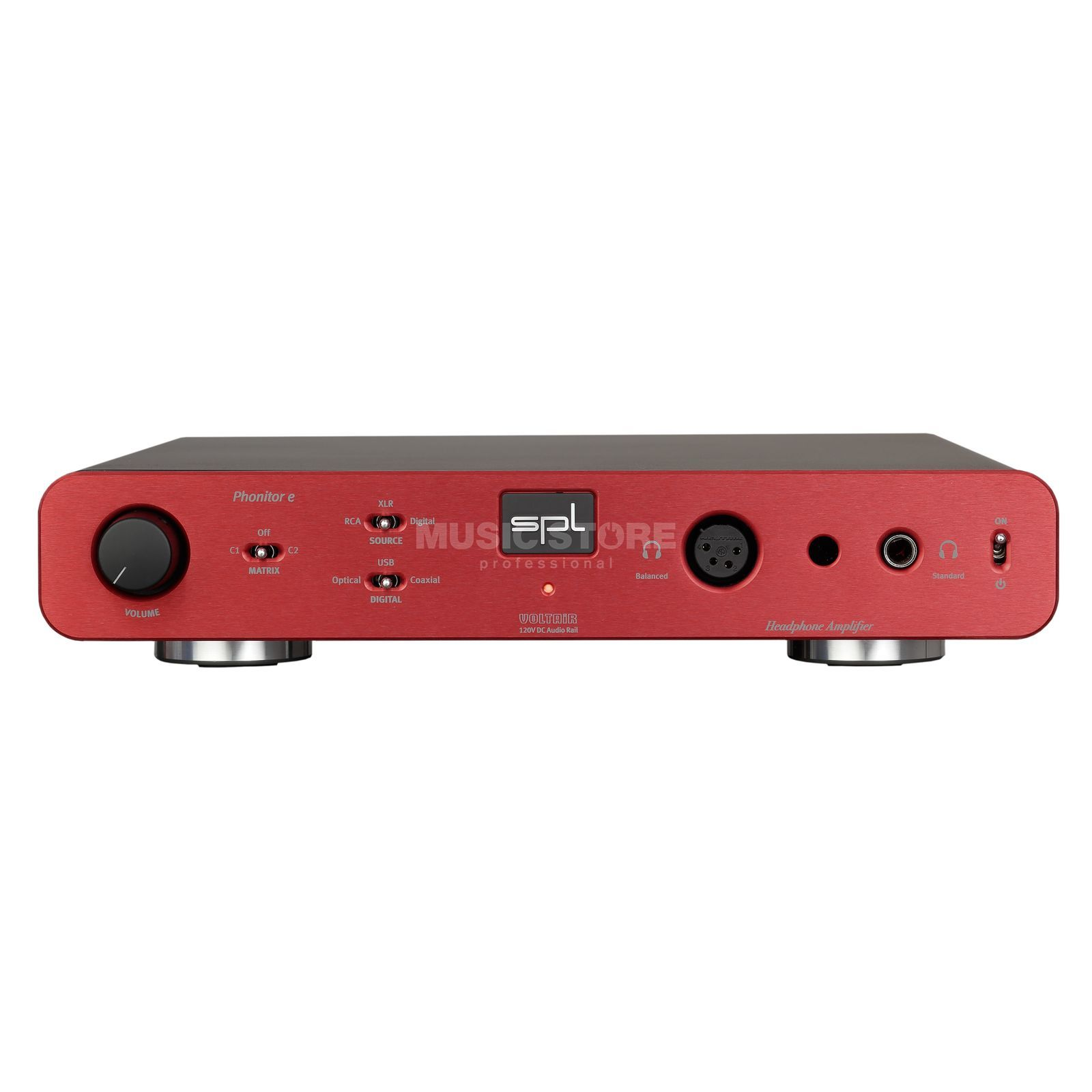 SPL Electronics Pro-Fi Phonitor E + DA red High-End Kopfhörerverstärker Product Image