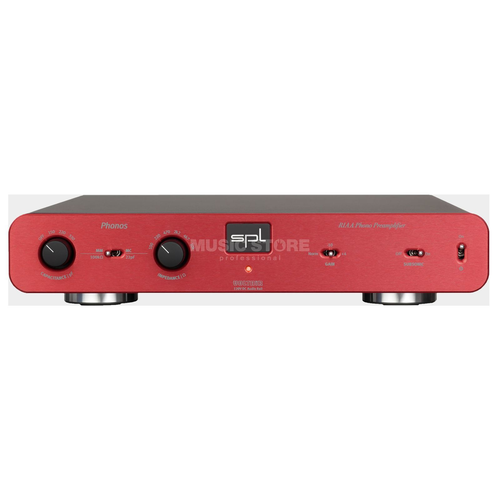 SPL Electronics Pro-Fi Phonos red High-End Phono Vorverstärker Product Image