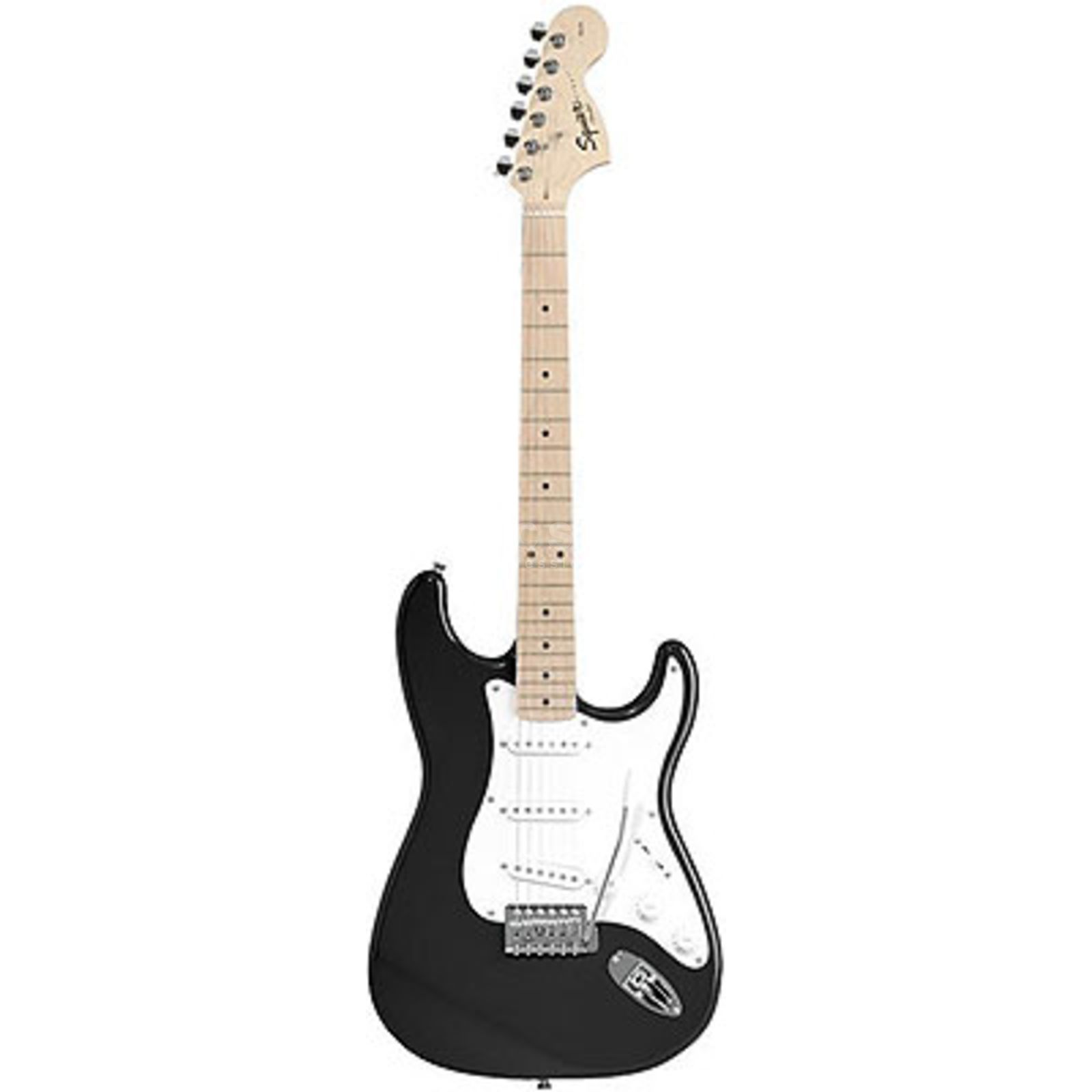 Squier by Fender Affinity Series Stratocaster MN Black Produktbild