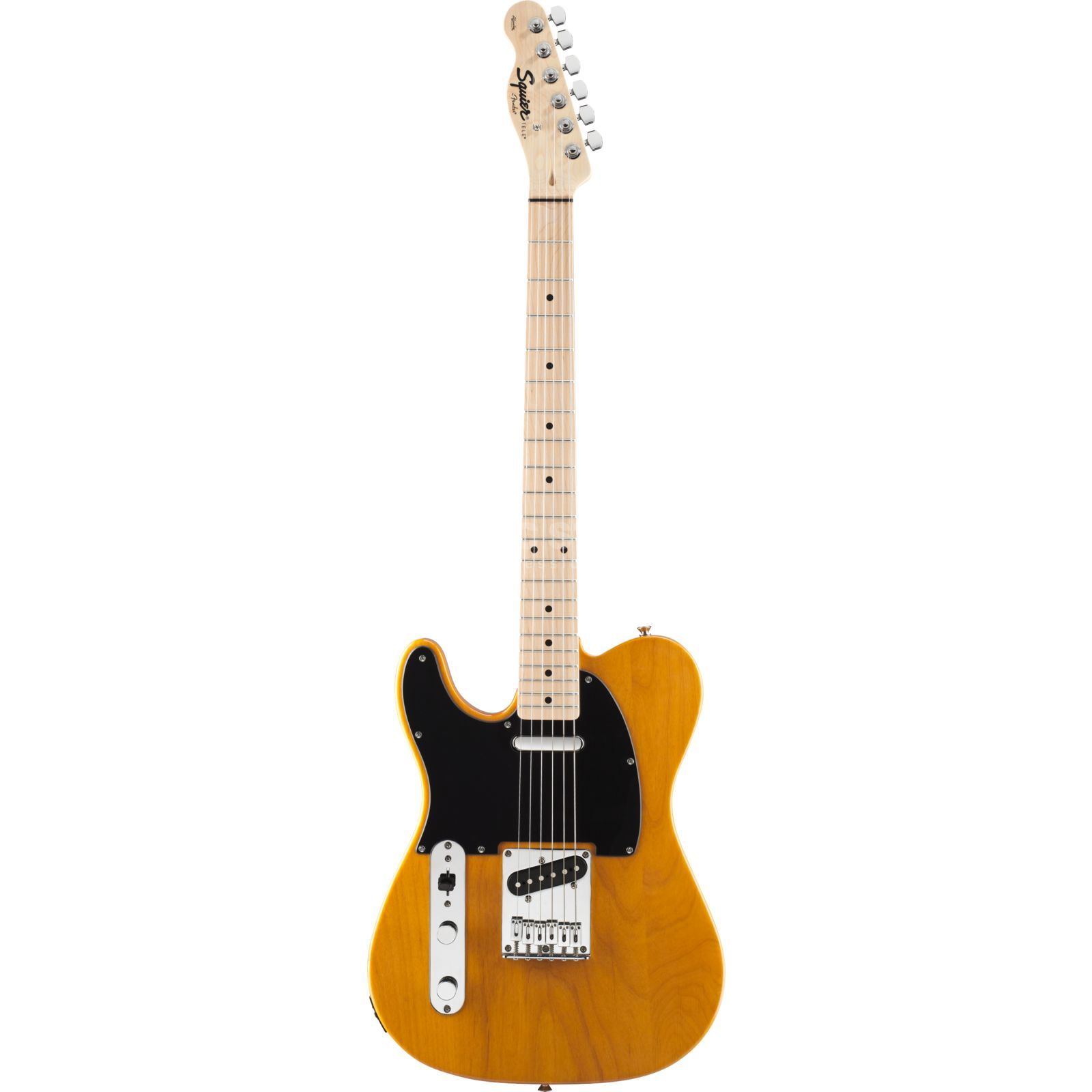 Squier by Fender Affinity Series Telecaster MN Butterscotch Blonde Lefthand Produktbild