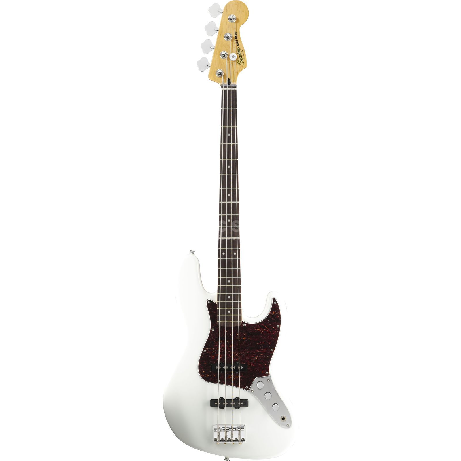 Squier by Fender VM J-Bass RW OWH Olympic White Produktbild