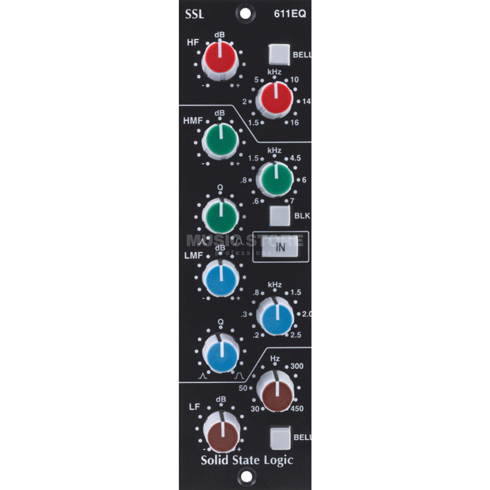 SSL Solid State Logic E-Series EQ Module for the 500 Series Produktbillede