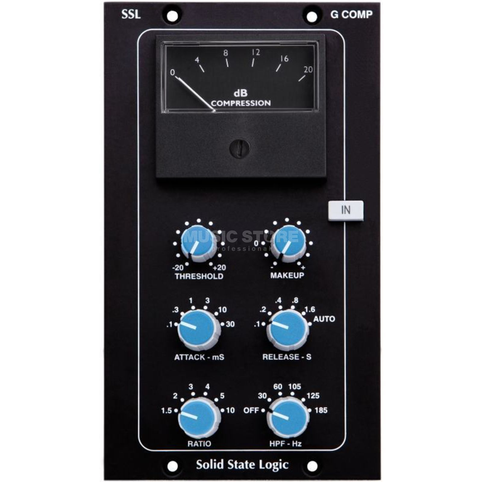 SSL Solid State Logic G Comp Bus Compressor V2 Module for the 500 Series Produktbillede