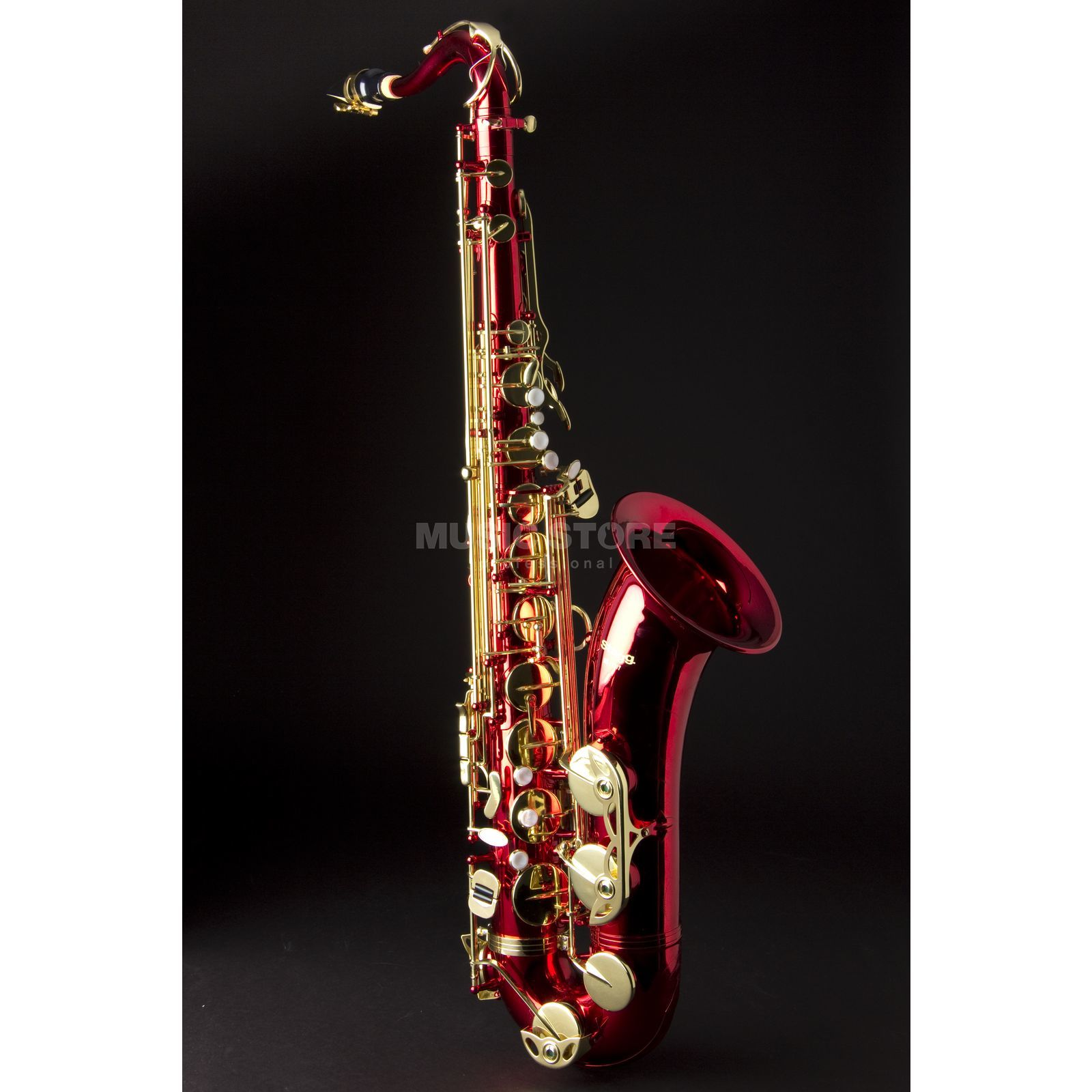 Stagg Bb-Tenorsaxofoon 77-ST/RD/SC  Productafbeelding