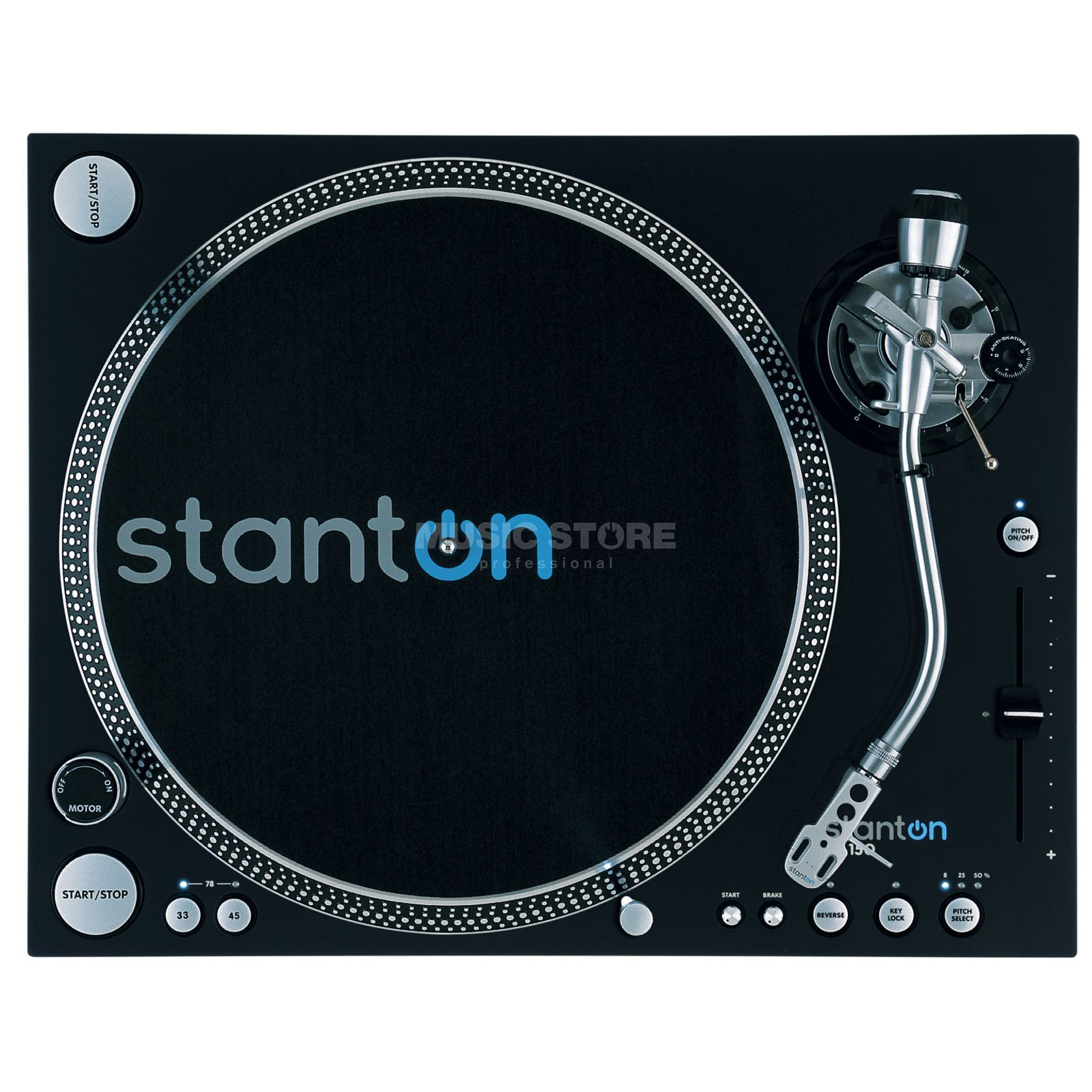 Stanton ST-150 High Torque Turntable    Product Image