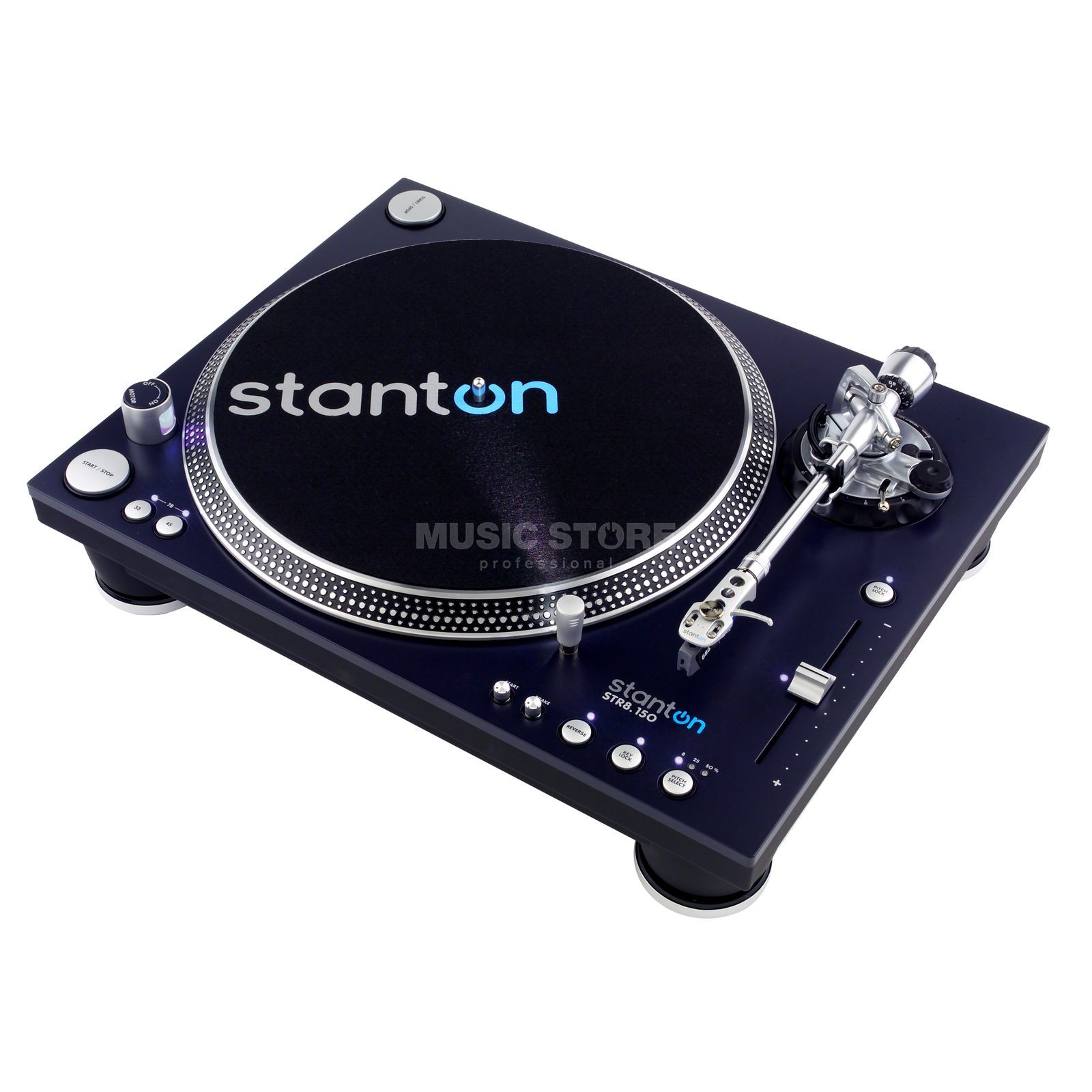 Stanton STR8-150 High Torque DJ Turntable Produktbillede