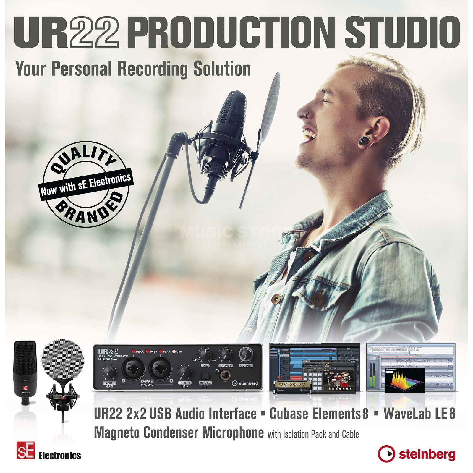 Steinberg UR 22 Production Studio  Produktbild