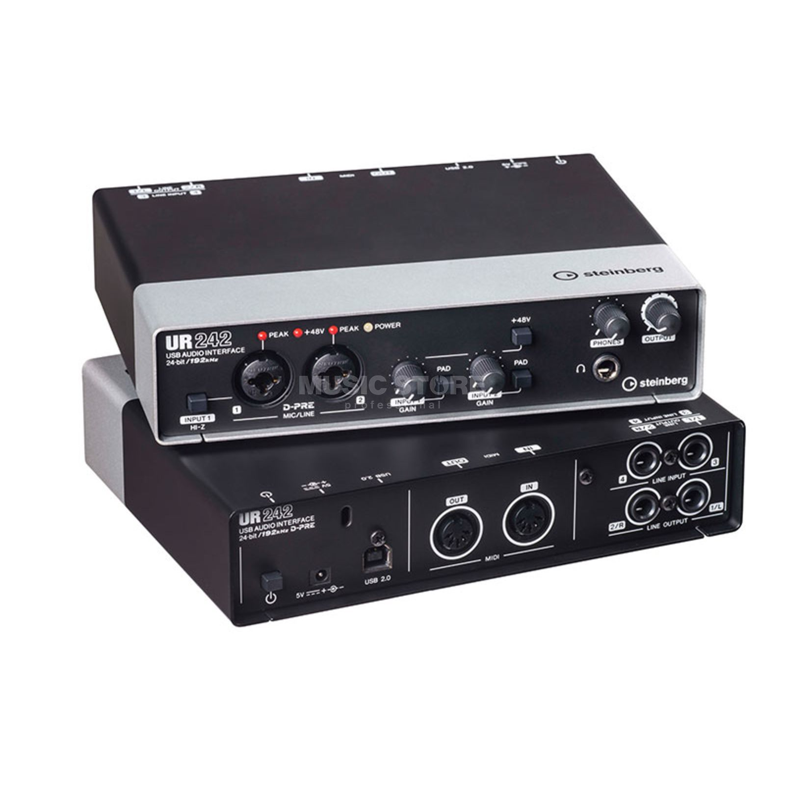 Steinberg UR242 4x2 USB 2.0 Audio-Interface Produktbillede