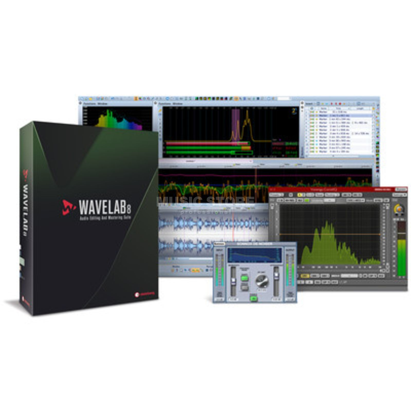 Steinberg Wavelab 8 Update von Wavelab 7 Mac/PC GB,D,F,I,ES Produktbillede