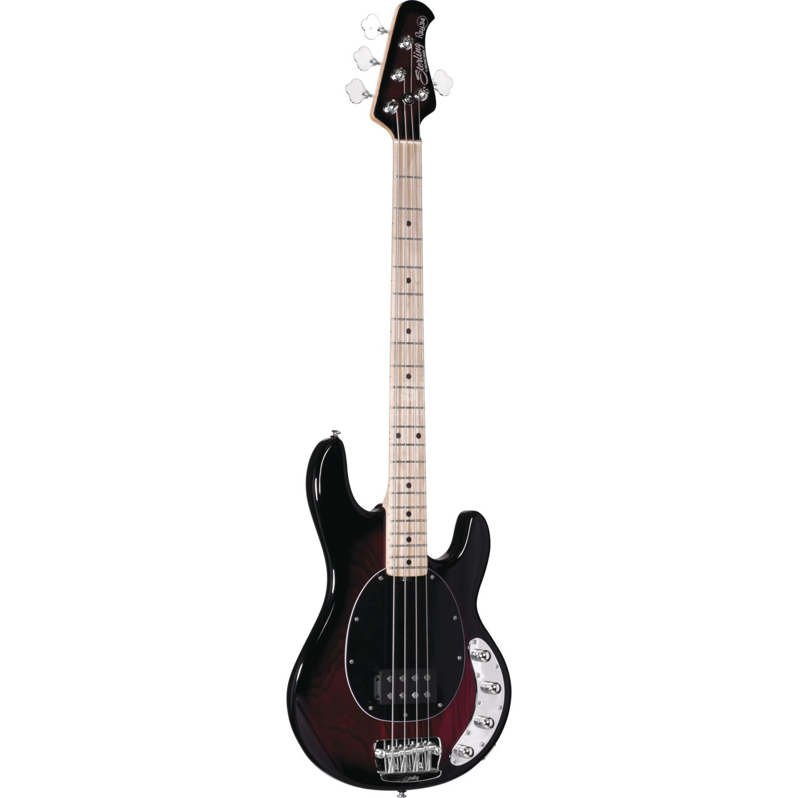 Sterling by Music Man Ray34 MN Ruby Red Burst Produktbild