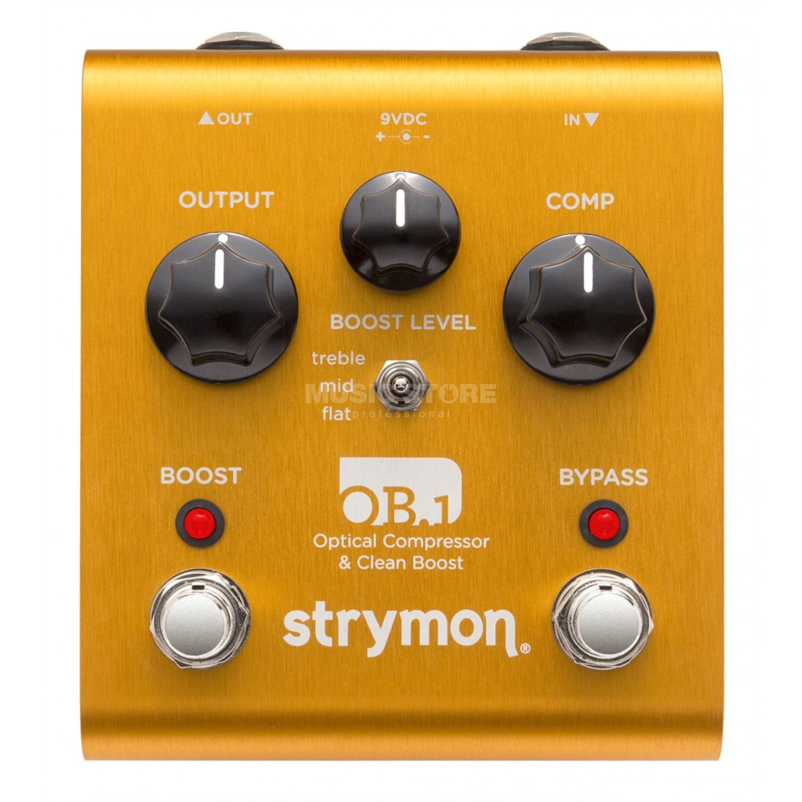 Strymon OB.1 Bass Modification Optical Compressor & Clean Boost Zdjęcie produktu