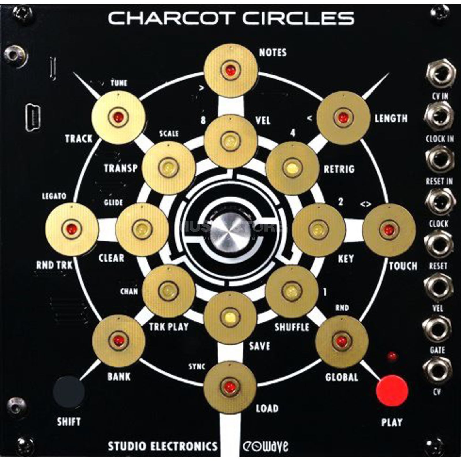 Studio Electronics Charcot Circles Step Sequencer Imagem do produto