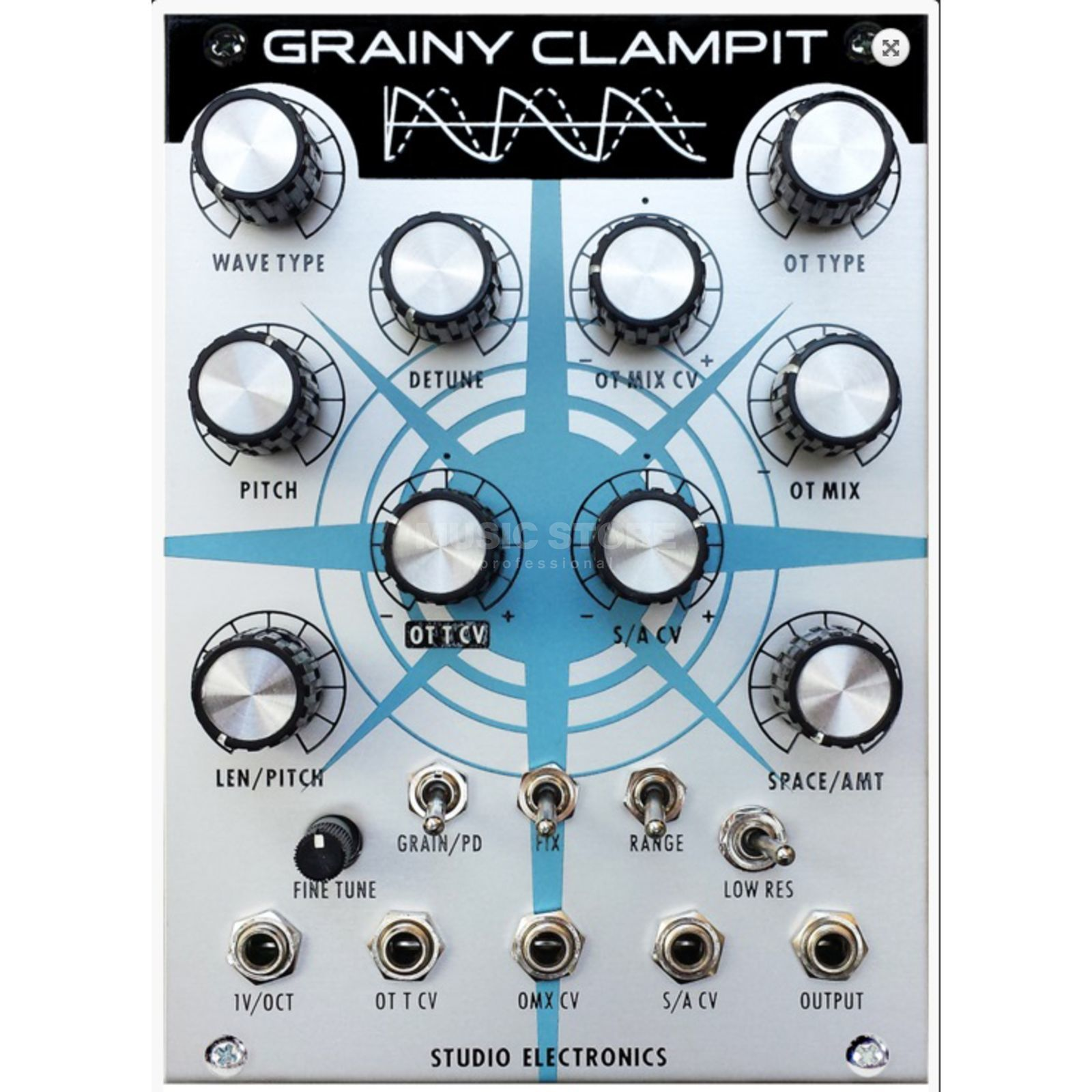 Studio Electronics Grainy Clamp it Oscillator Graincloud Produktbillede