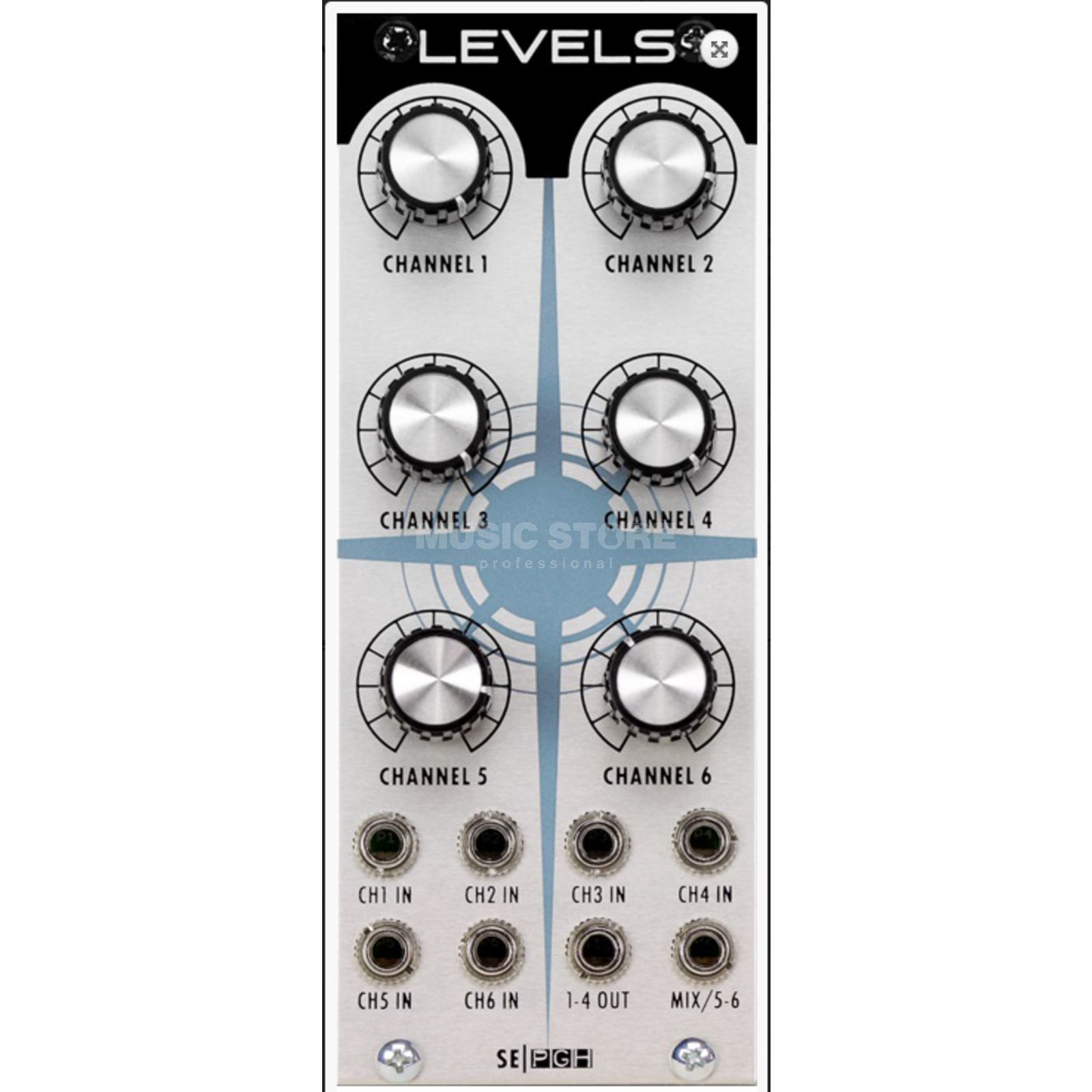 Studio Electronics Levels Mixer 6 Channel flexible Mixer Imagem do produto