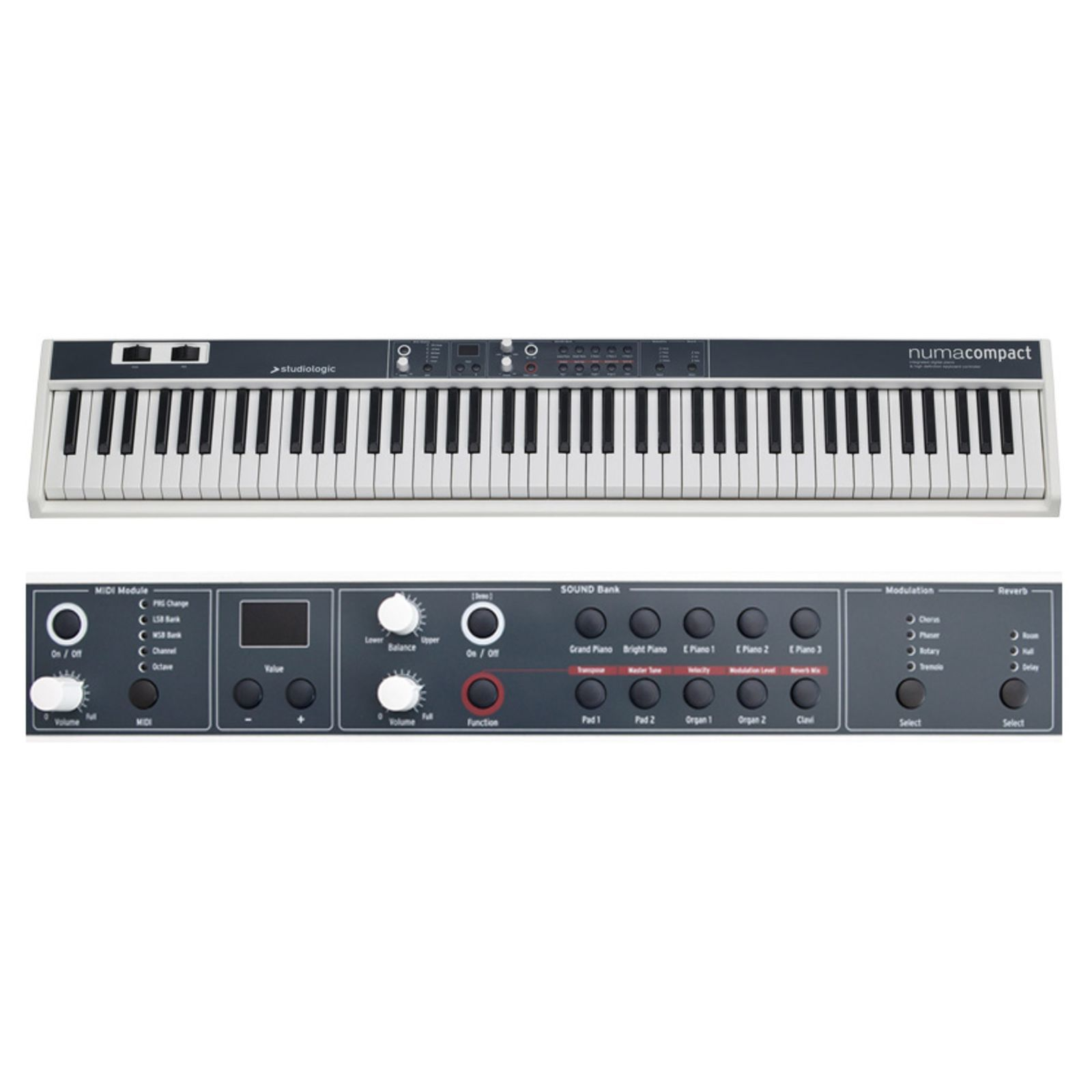 Studiologic NUMA Compact 88-note Stage Piano Produktbillede