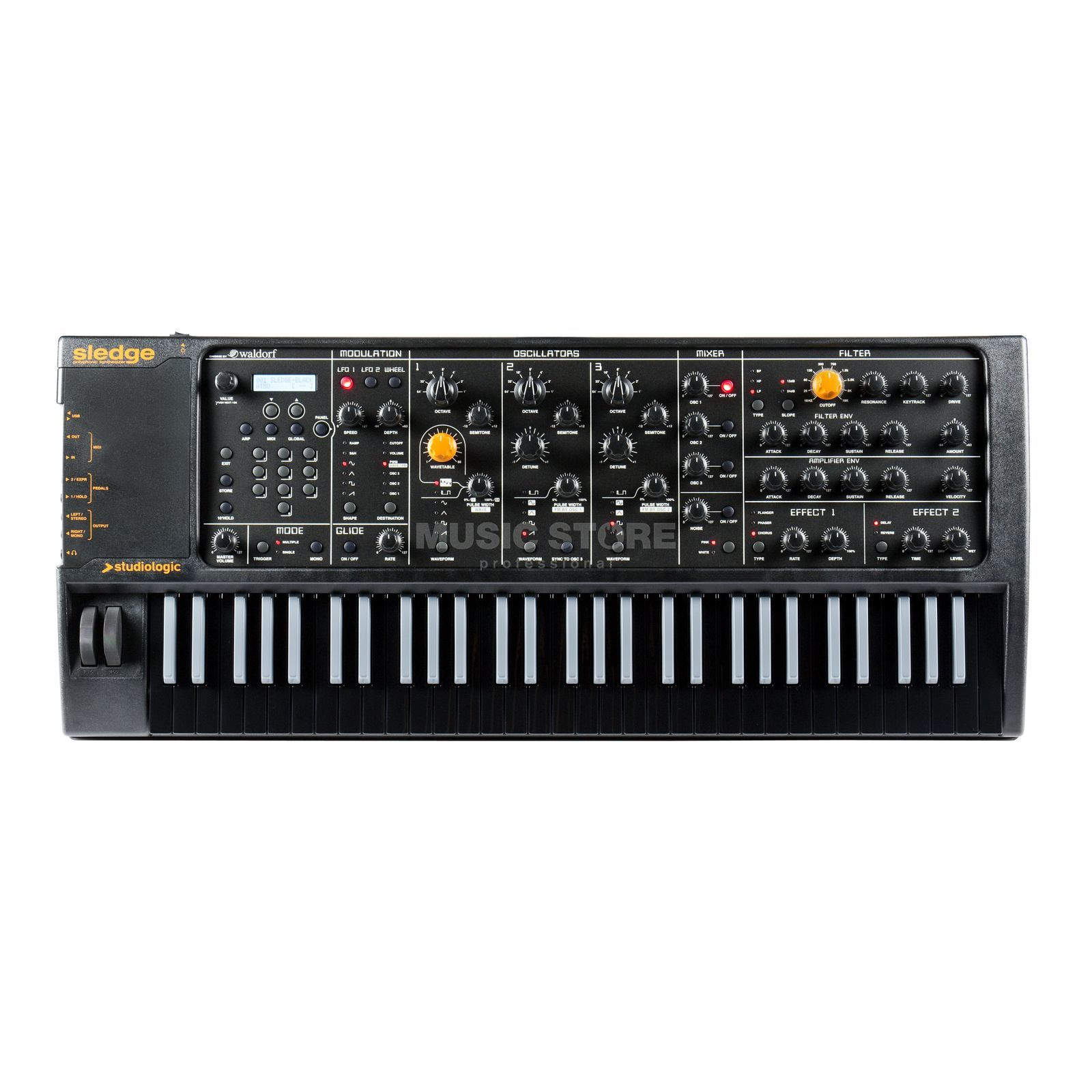 Studiologic Sledge Black Edition Digitaler Synthesizer Produktbild