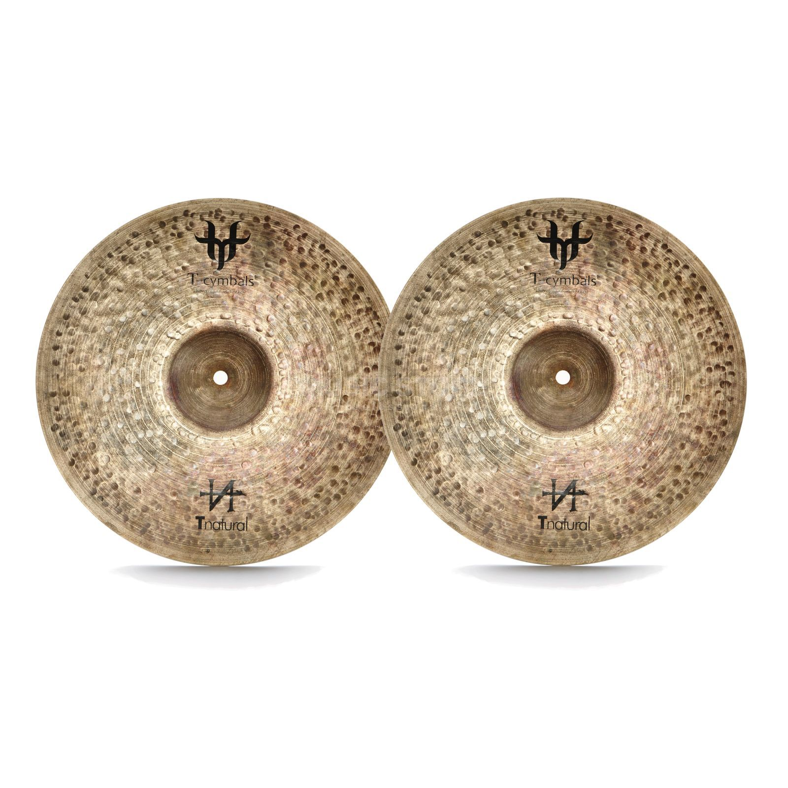 "T-Cymbals T-Natural Light HiHat 14"" Product Image"