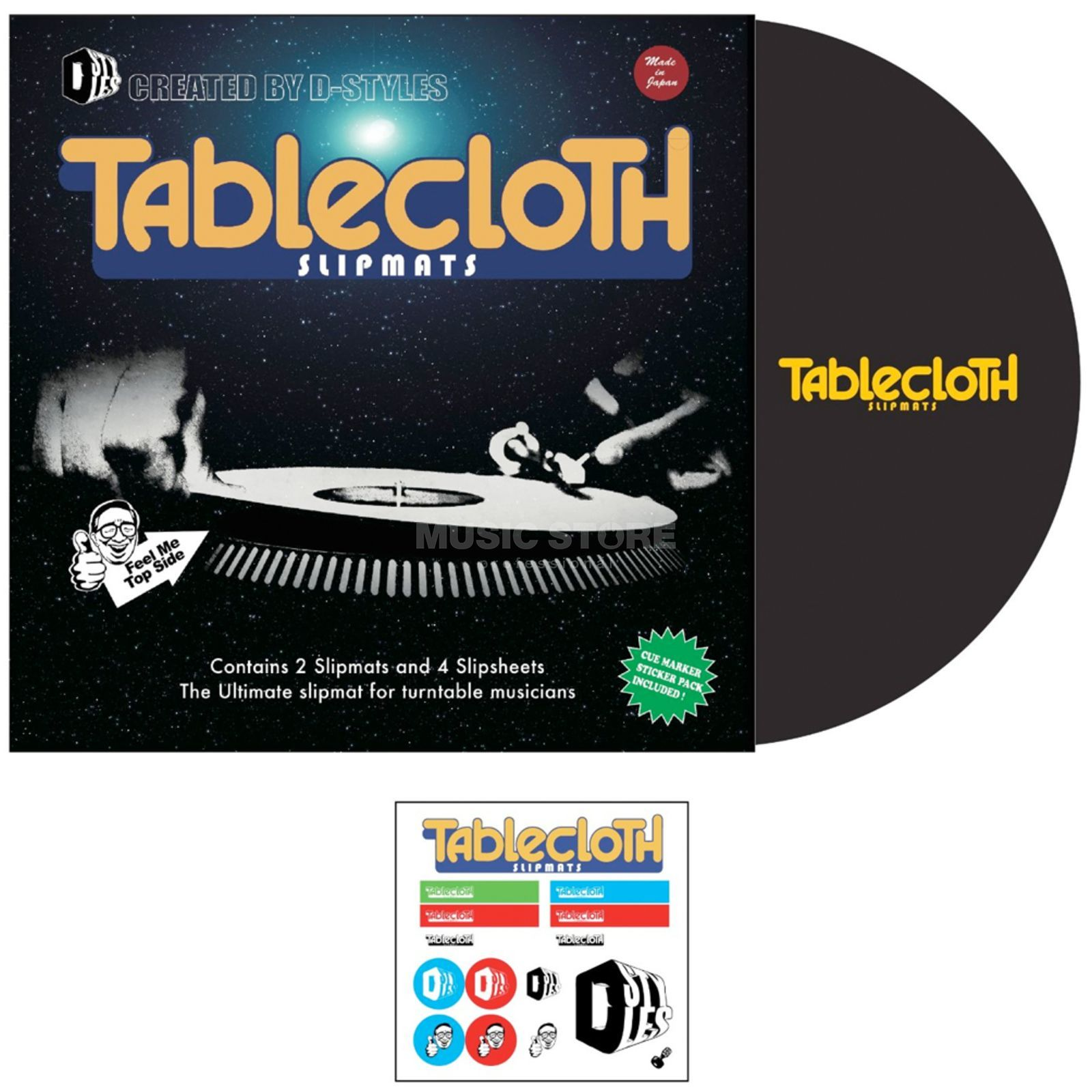 Tablecloth Slipmat D-Style, Version 3  Produktbillede