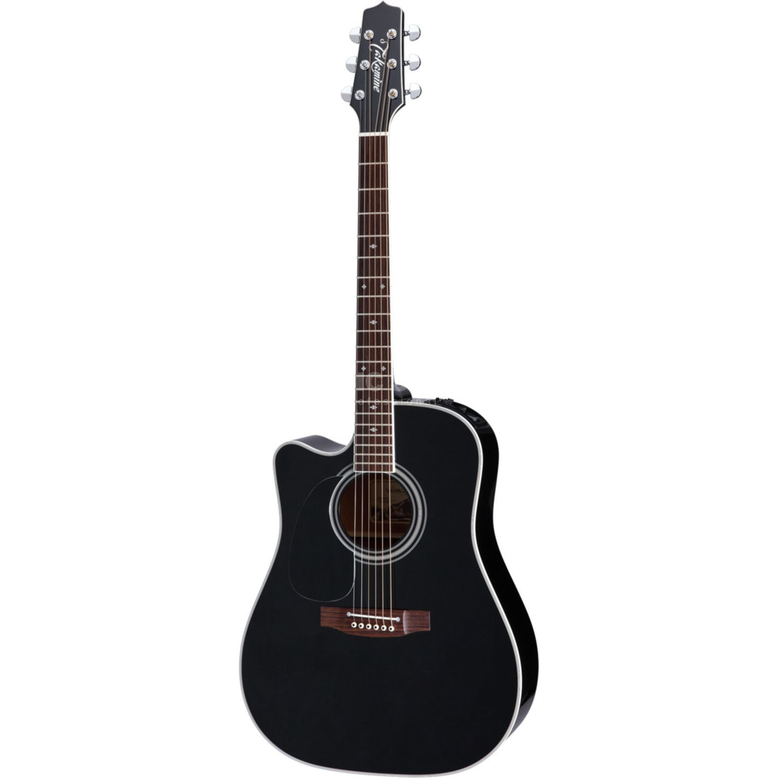 Takamine EF341SC-LH Lefthand Gloss Black Product Image