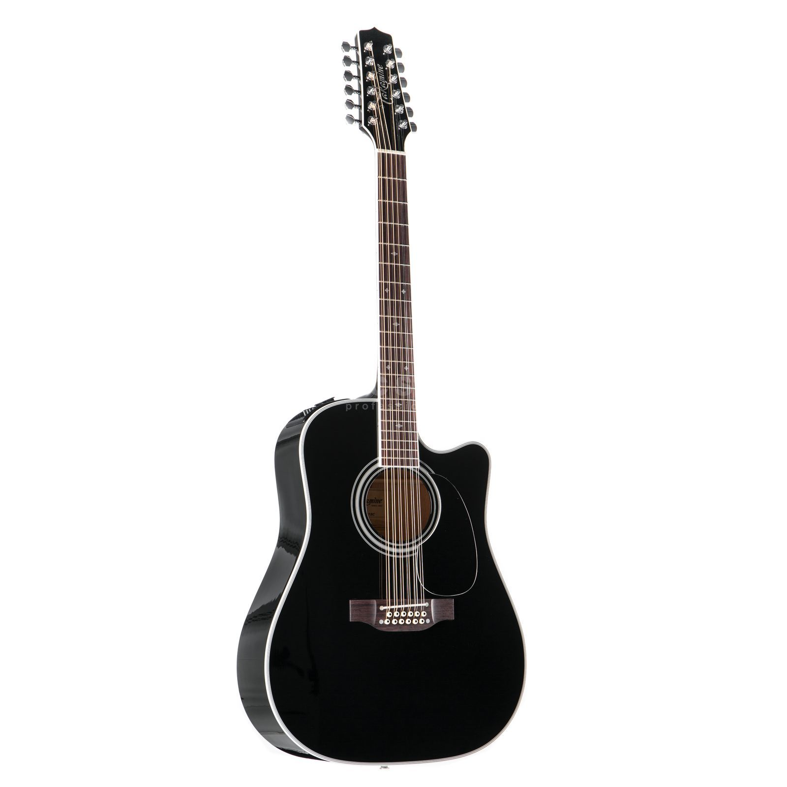 Takamine EF381 SC 12-String Black Highgloss Product Image
