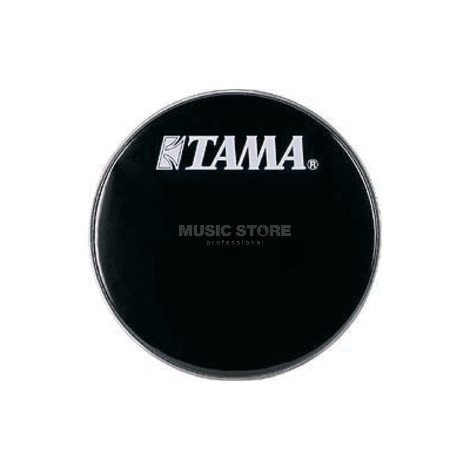 "Tama Bass Drum Front Head BK24BMWS, 24"", black, w/logo Изображение товара"
