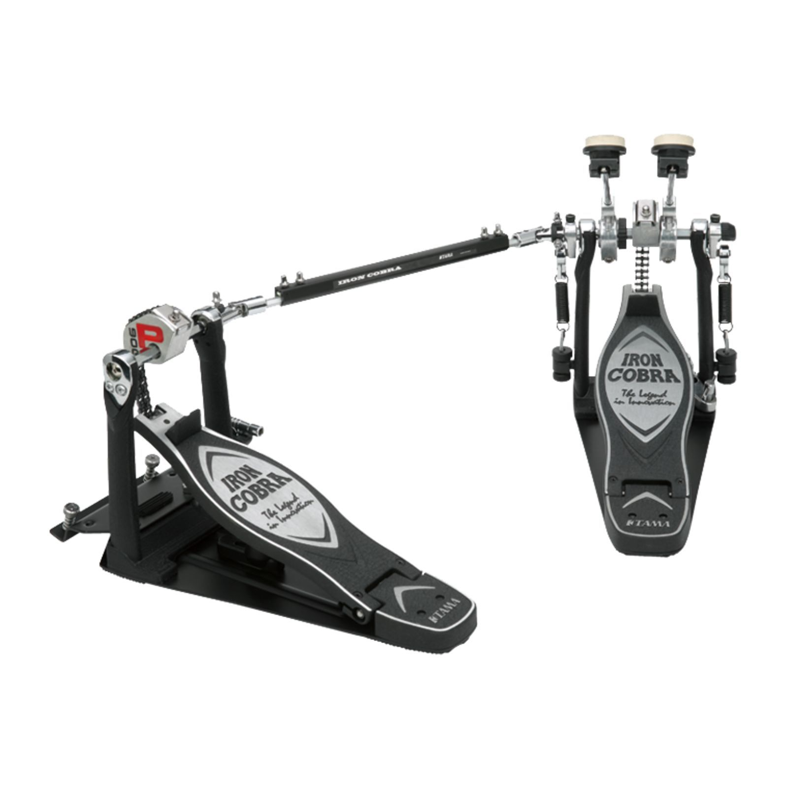 Tama Double Pedal Iron Cobra, HP900PSWN, Power Glide Produktbillede