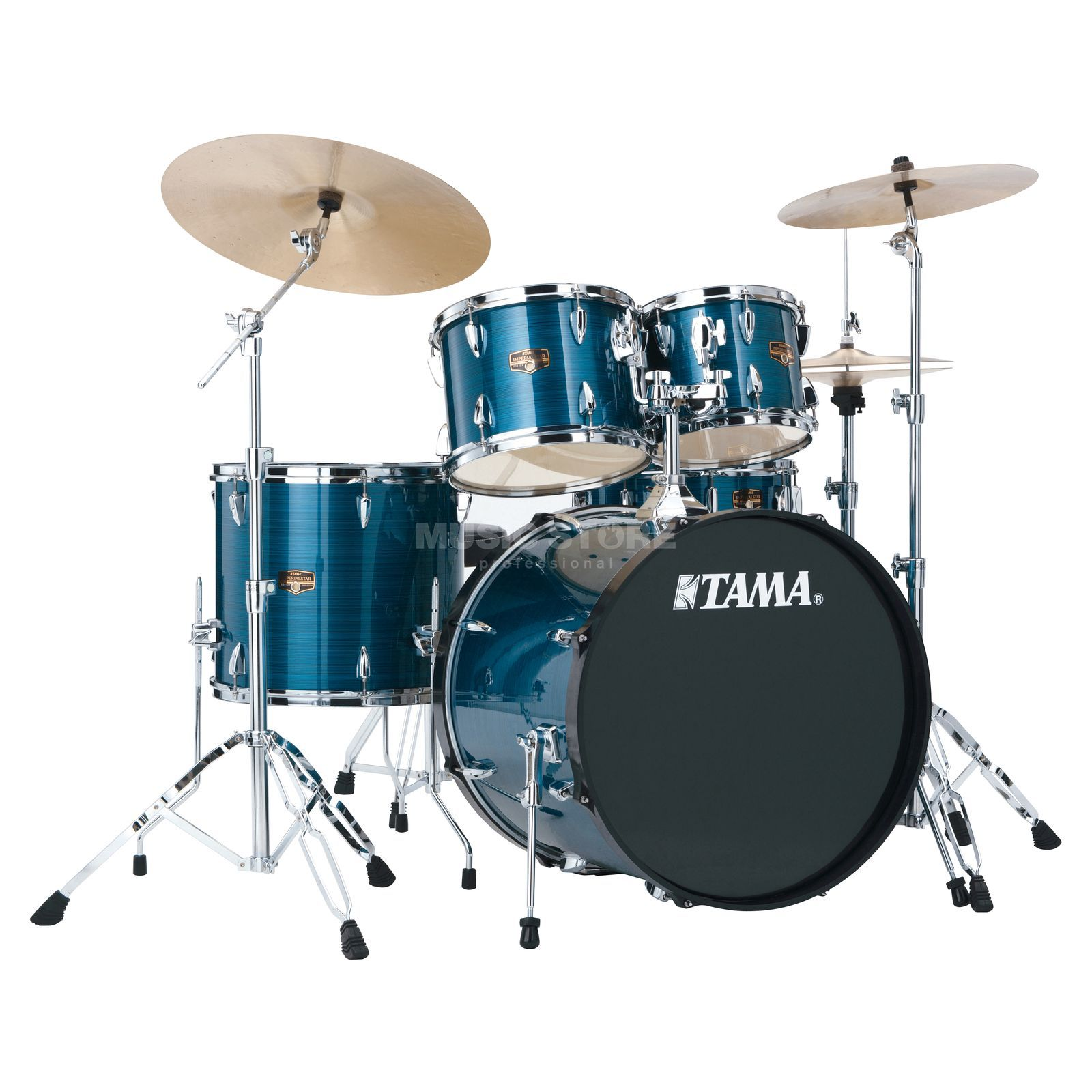 Tama Imperialstar IP52KH6, Hairline Blue #HLB Produktbillede