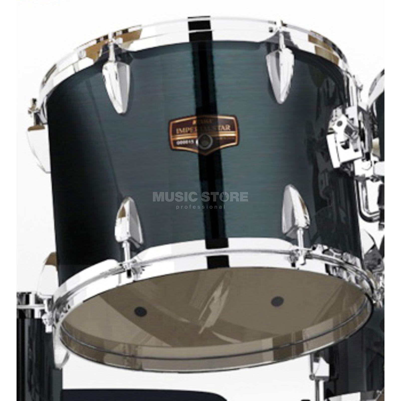 "Tama Imperialstar Tom 13""x10"", Hairline Black #HBK Produktbillede"