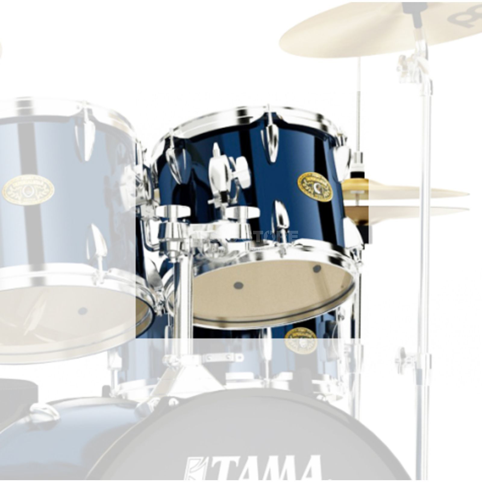 "Tama Imperialstar Tom 8""x7"", Midnight Blue #MNB Produktbillede"