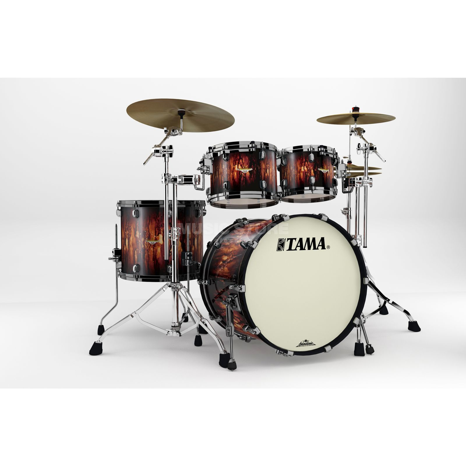Tama SC Maple MA42ZBNS, Molten Satin Brown Burst #MBB Produktbild