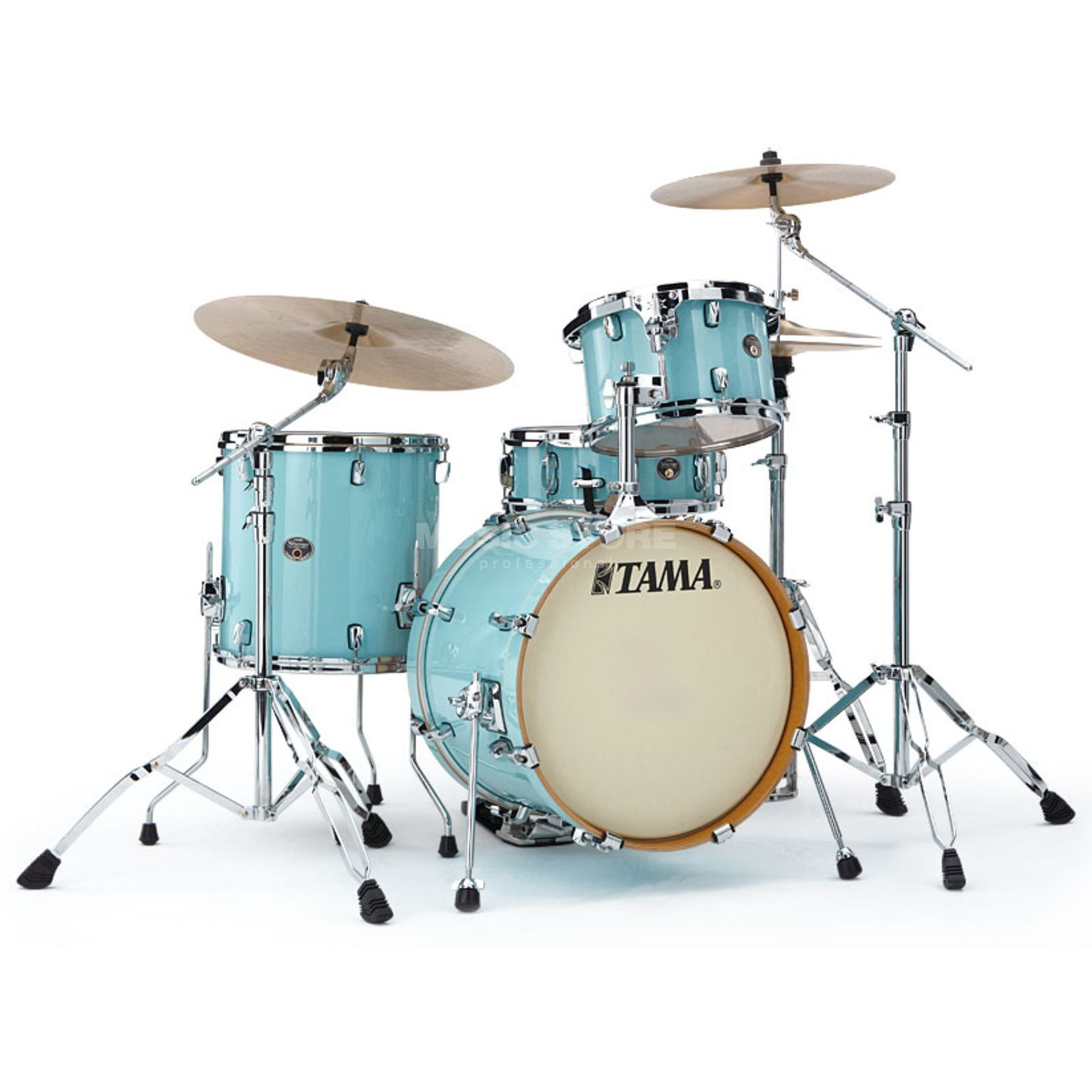 Tama Silverstar Custom VP48, Light Blue Lacquer #LBL Produktbild