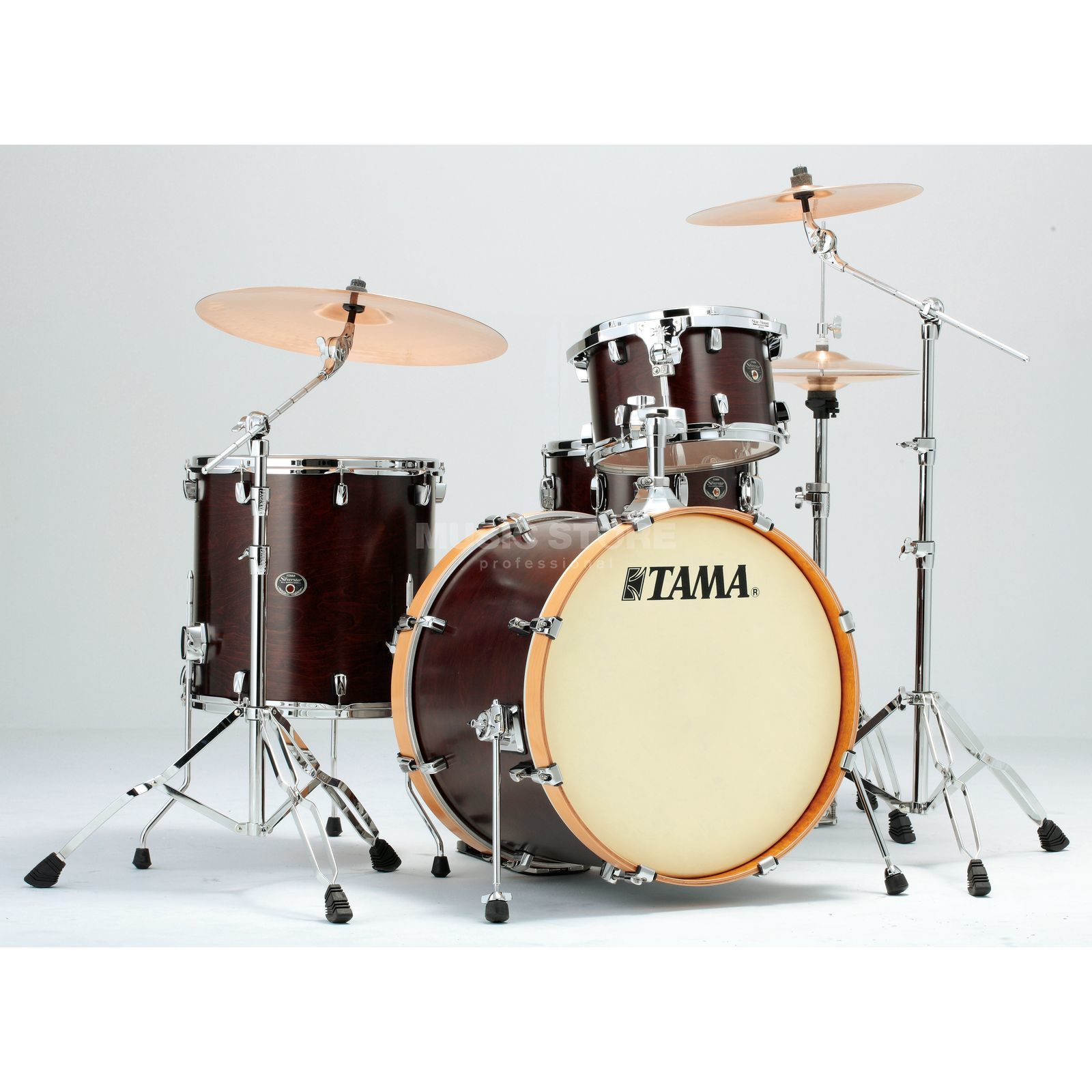 Tama Silverstar Custom VP48 Limited Satin Dark Brown #SDW Produktbild