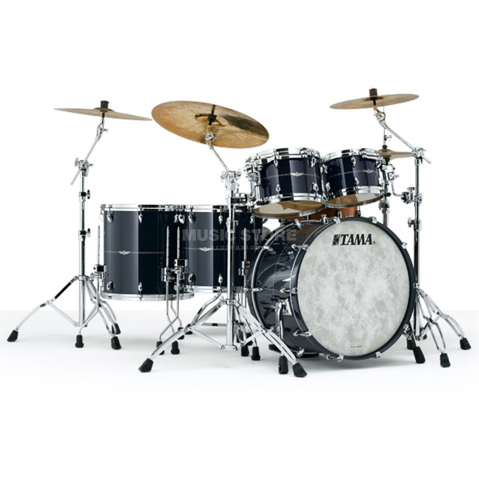 Tama Star Maple ShellSet, B-WARE Smokey Black, DEMO-Set Produktbild