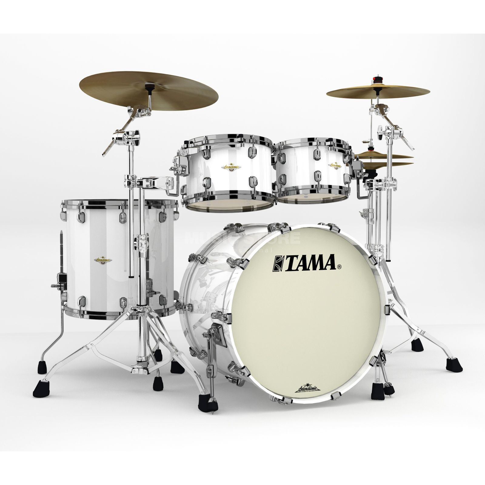 Tama Starclassic Maple MA42TZBNS Piano White Product Image