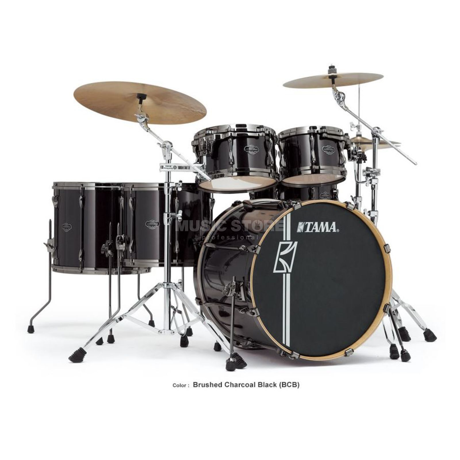 Tama Superstar HD Maple MK52HZBN, Brushed Charcoal Black, BCB Image du produit