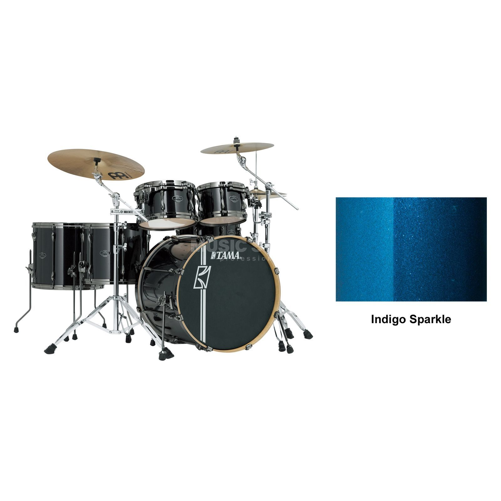 Tama Superstar HD Maple MK62HZBN, Indigo Sparkle #ISP Produktbild
