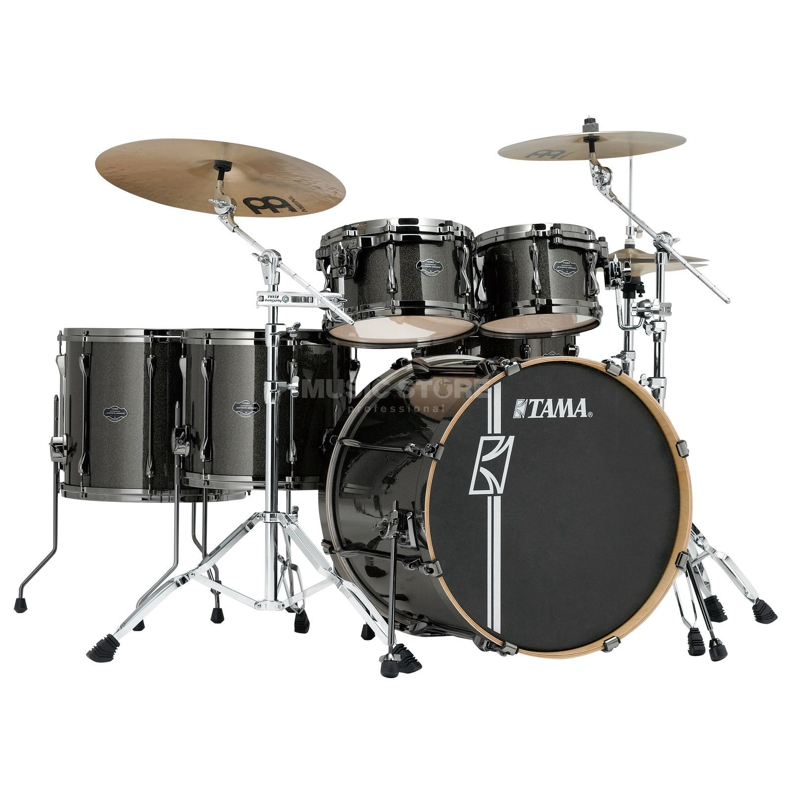Tama Superstar HD Maple MK62HZBN, Midnight Gold Sparkle #MGD Produktbild