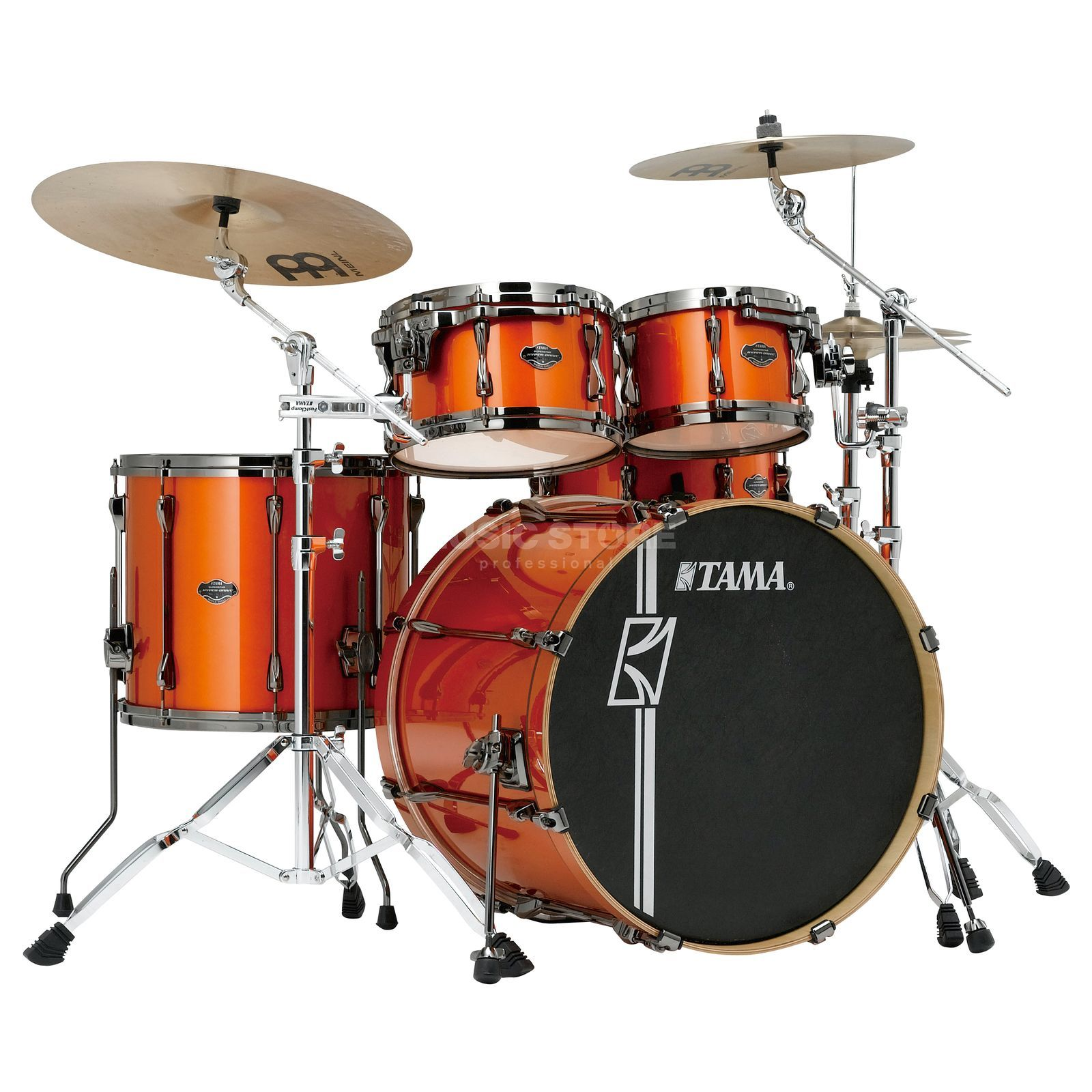 Tama Superstar HD Maple ML52HXZBN, Bright Orange Metallic #BOM Produktbillede