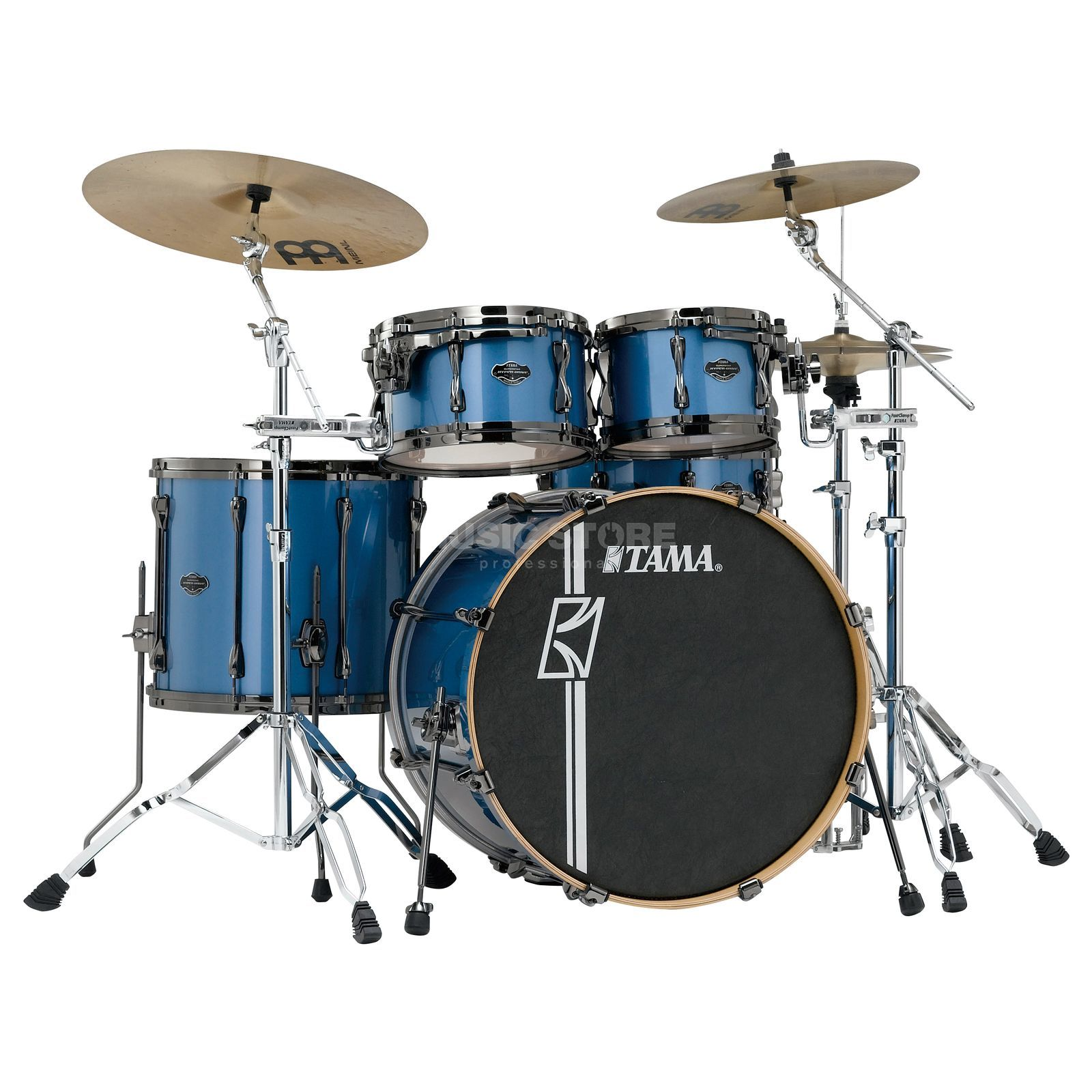 Tama Superstar HD Maple ML52HXZBN, Vintage Blue Metallic #VBM Produktbild