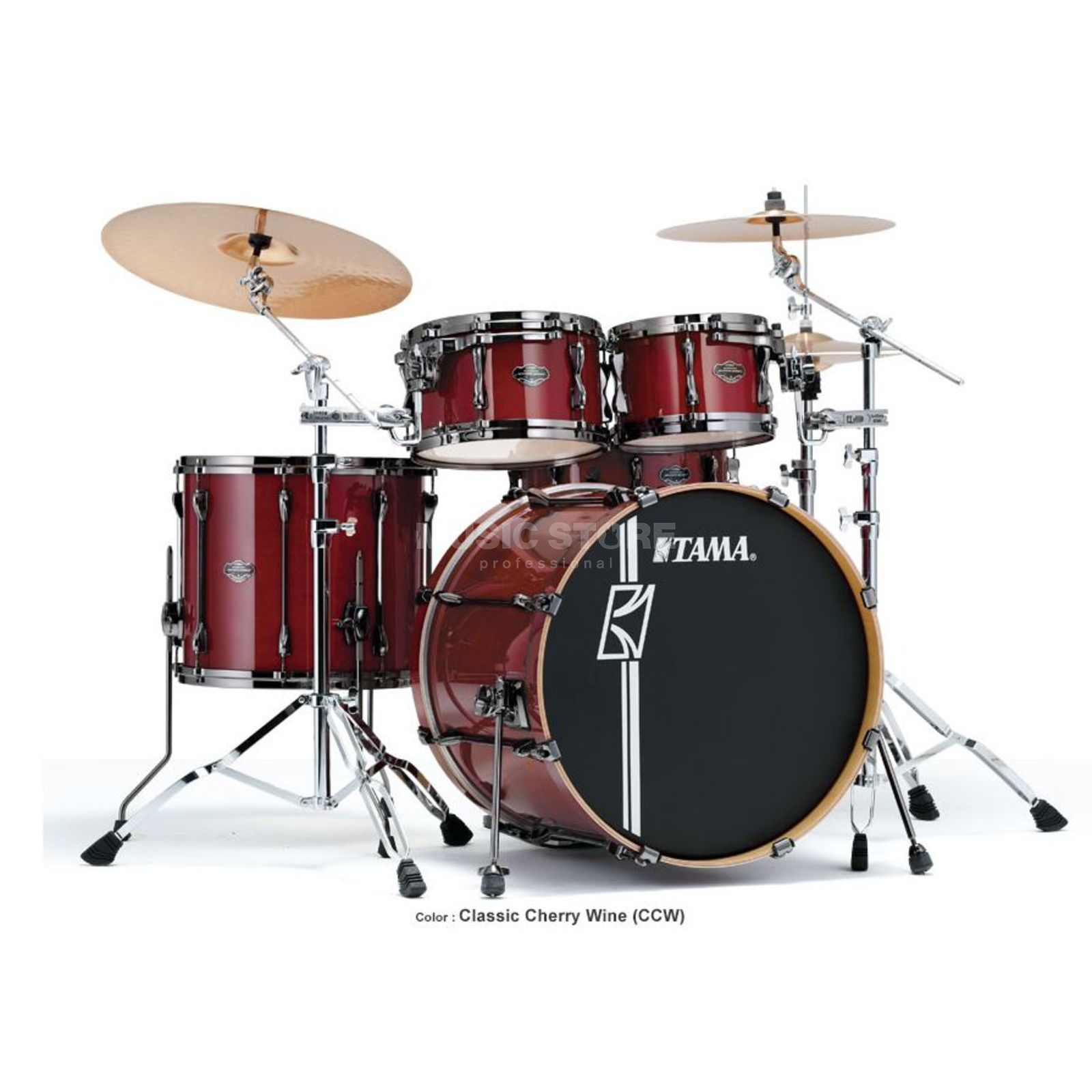 Tama Superstar HD Maple ML52HZBN, Classic Cherry Wine, CCW Produktbillede