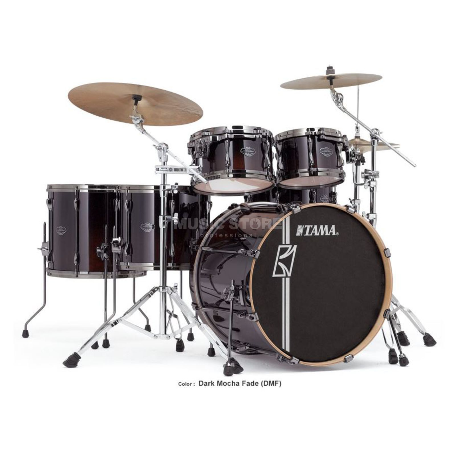 Tama Superstar HD Maple ML52HZBN, Dark Mocha Fade, DMF Imagem do produto