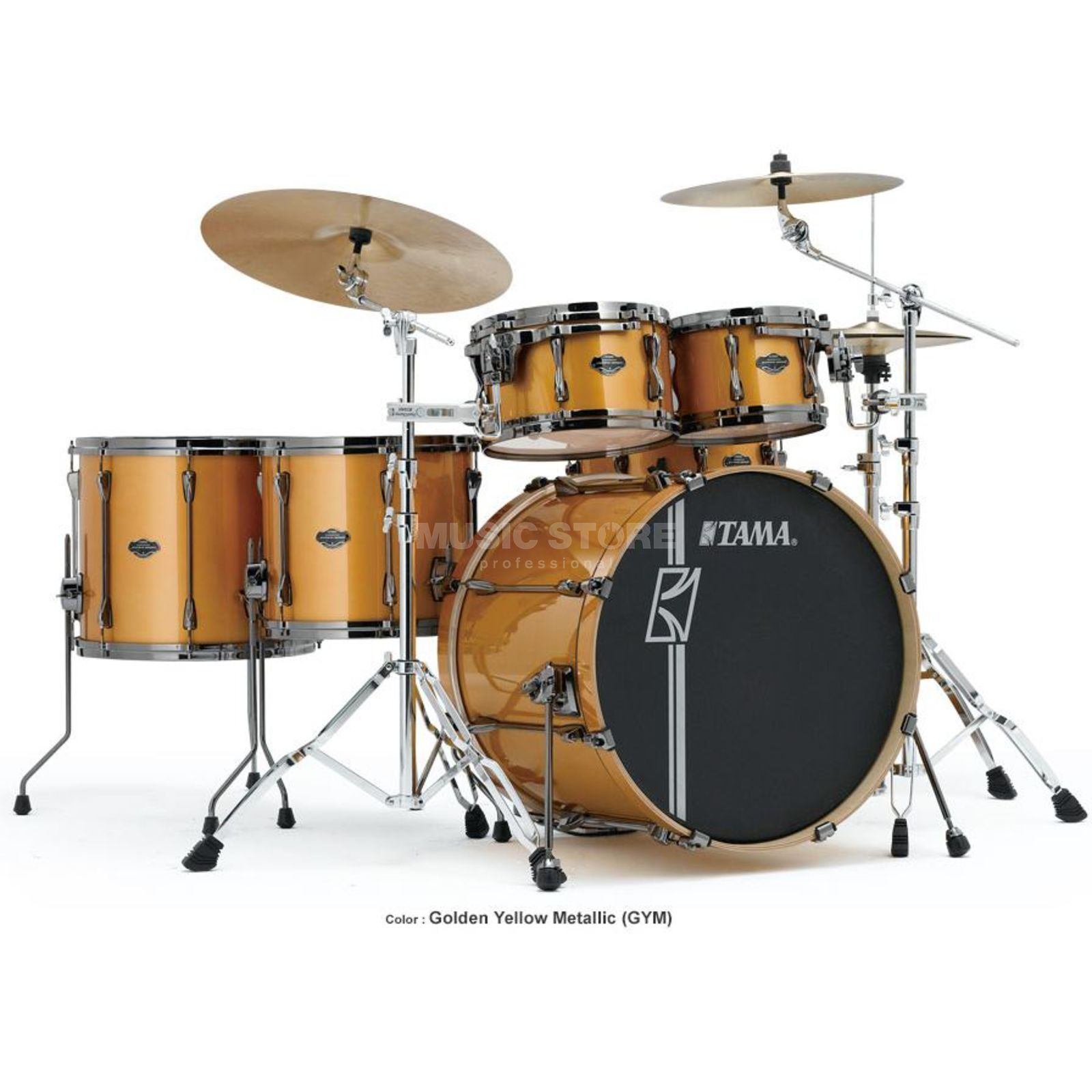 Tama Superstar HD Maple ML52HZBN, Golden Yellow Metallic, GYM Product Image