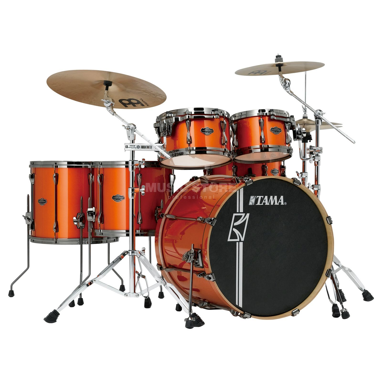 Tama Superstar HD Maple ML62HZBN, Bright Orange Metallic #BOM Produktbillede