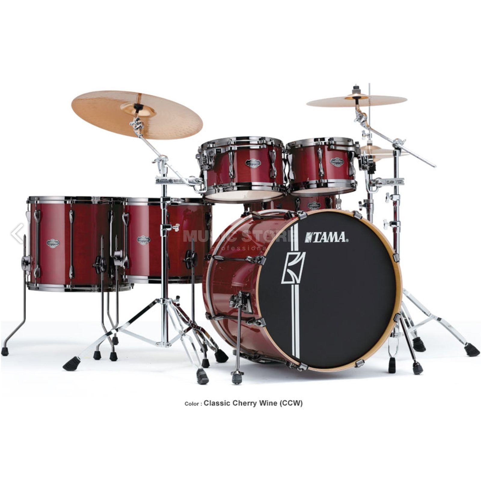 Tama Superstar HD Maple ML62HZBN, Classic Cherry Wine #CCW Produktbild
