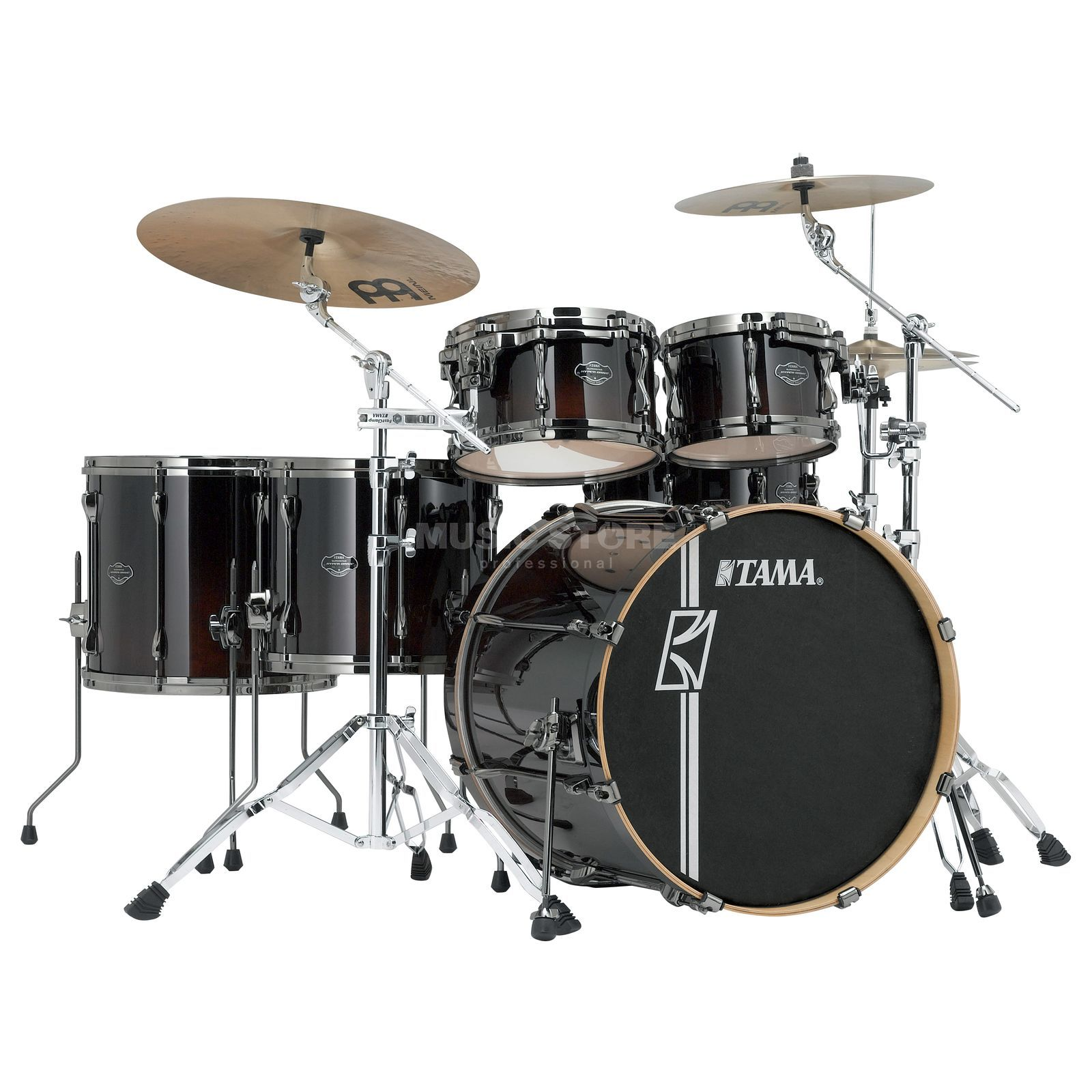 Tama Superstar HD Maple ML62HZBN, Dark Mocha Fade #DMF Produktbillede