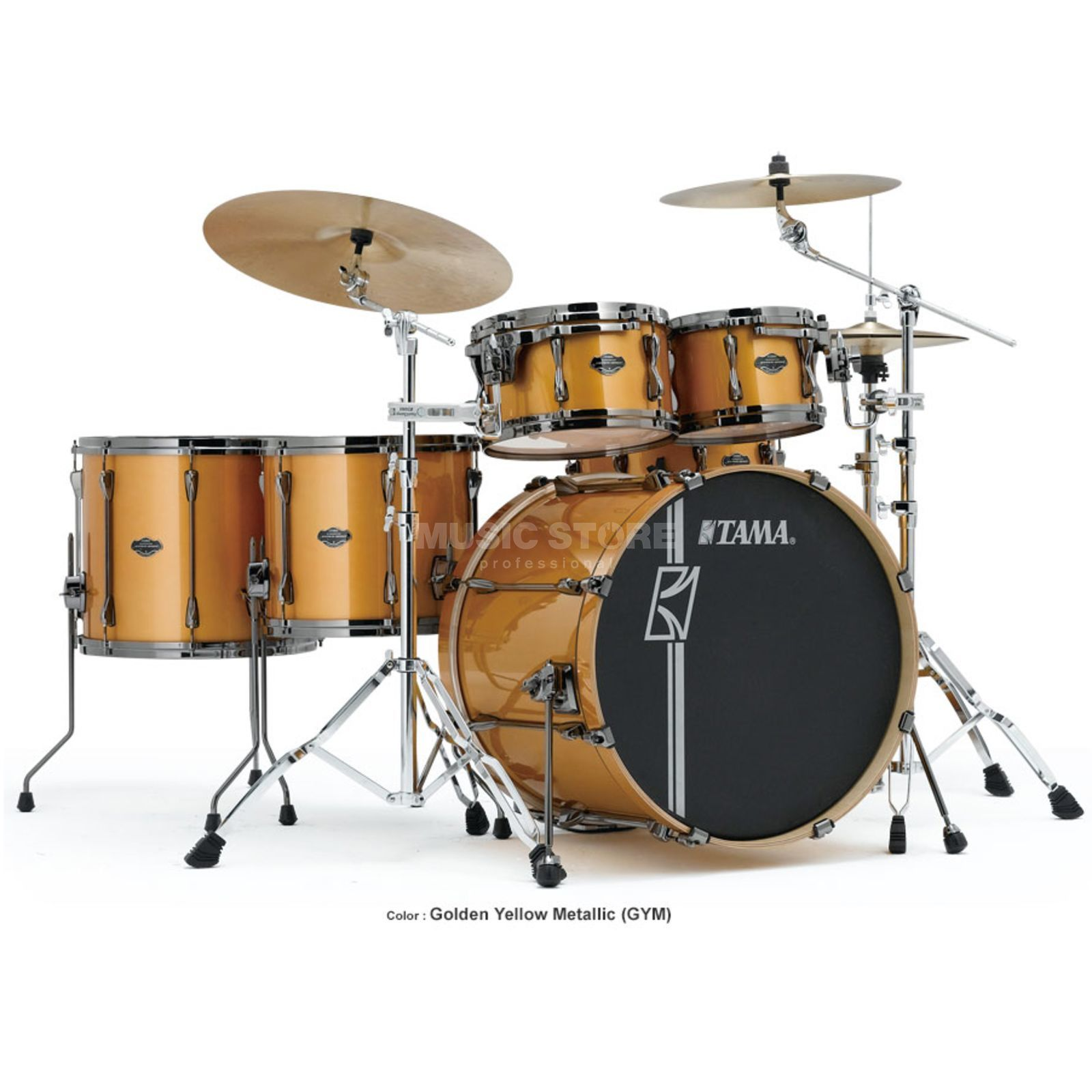 Tama Superstar HD Maple ML62HZBN, Golden Yellow Metallic #GYM Produktbillede