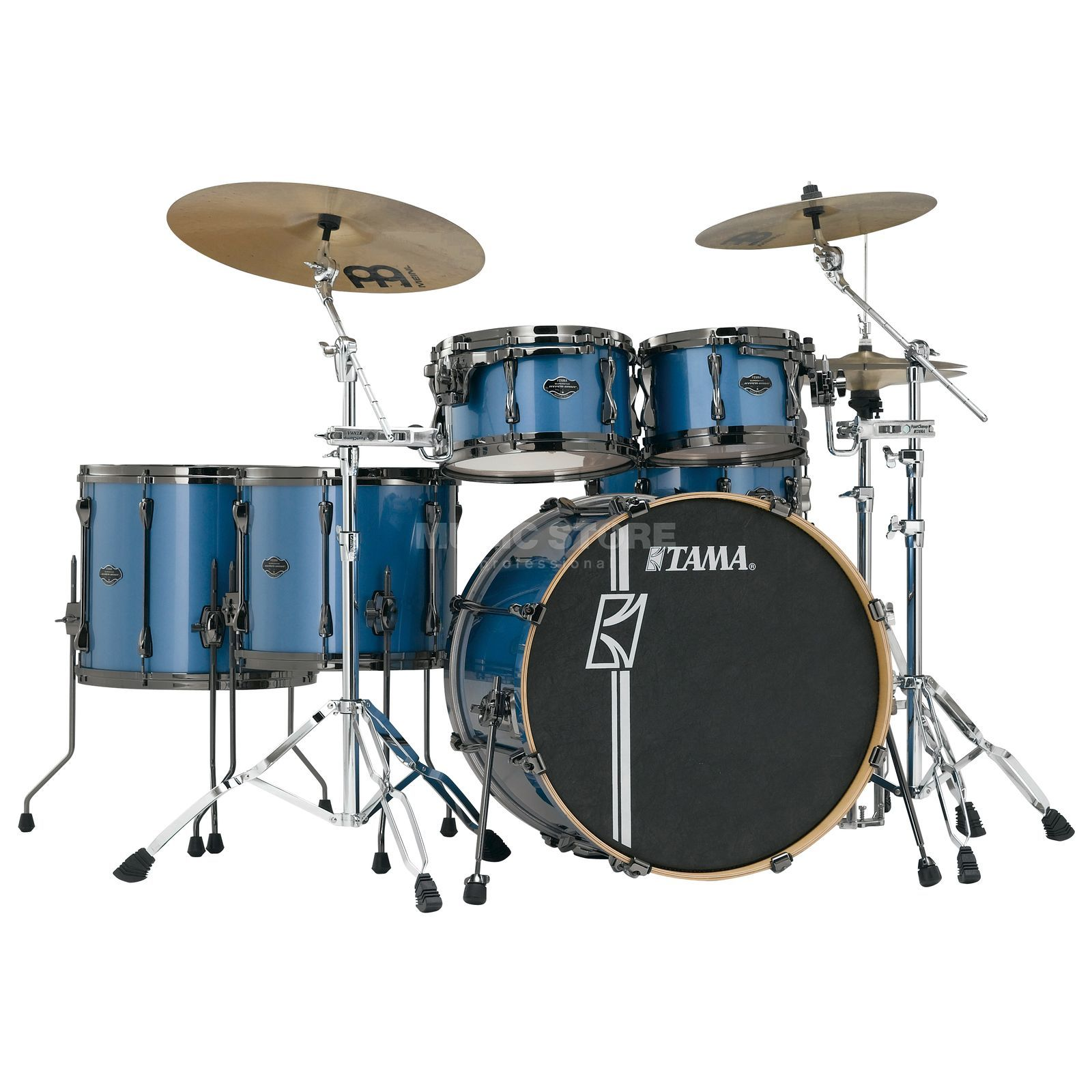 Tama Superstar HD Maple ML62HZBN, Vintage Blue Metallic #VBM Produktbillede