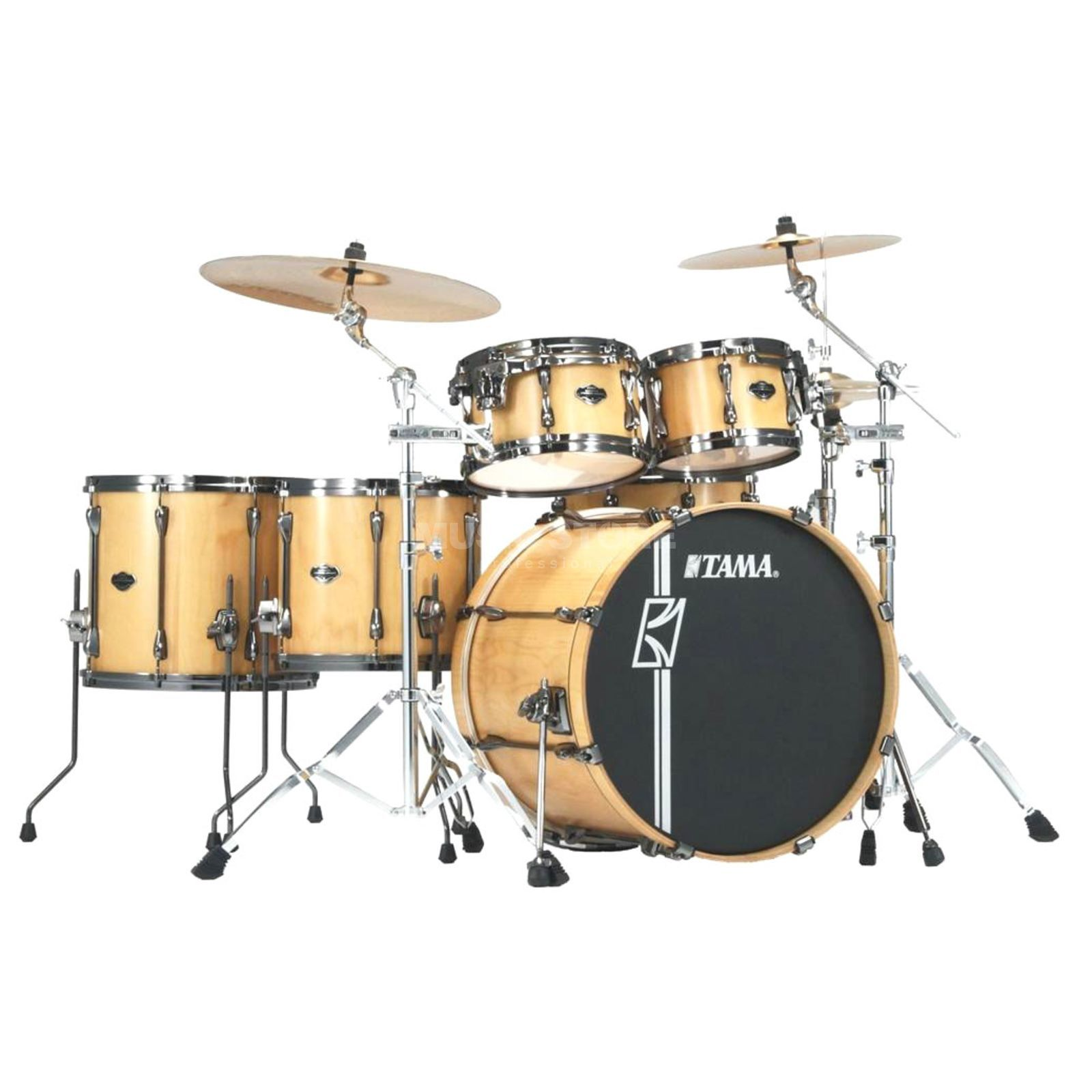 Tama Superstar HD Maple ML62HZBNSP Matte Natural Lacebark Pine Product Image