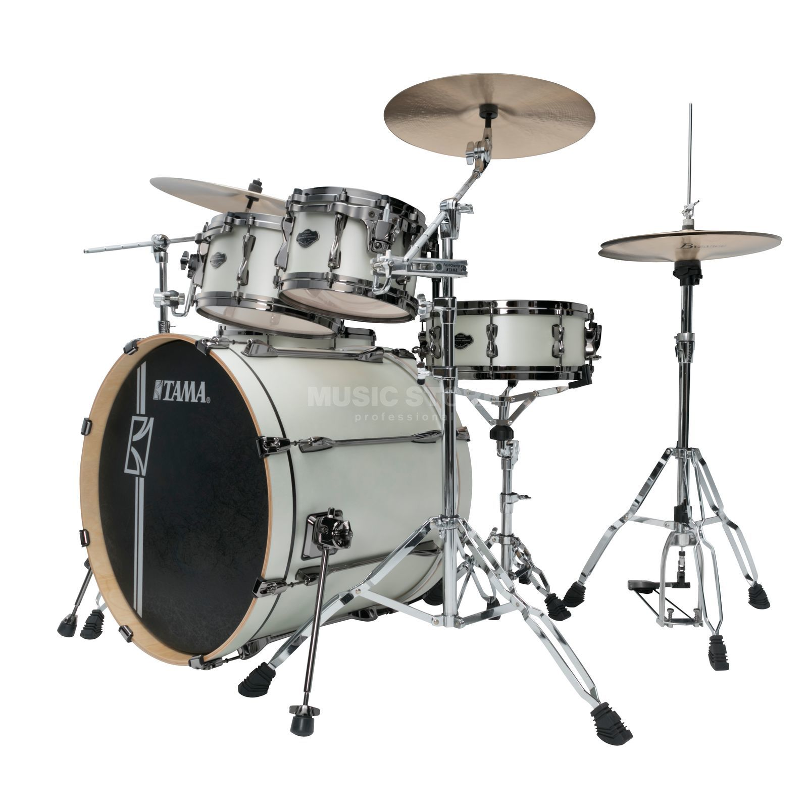 Tama Superstar HD ML42HLZBN, Satin Arctic Pearl Product Image